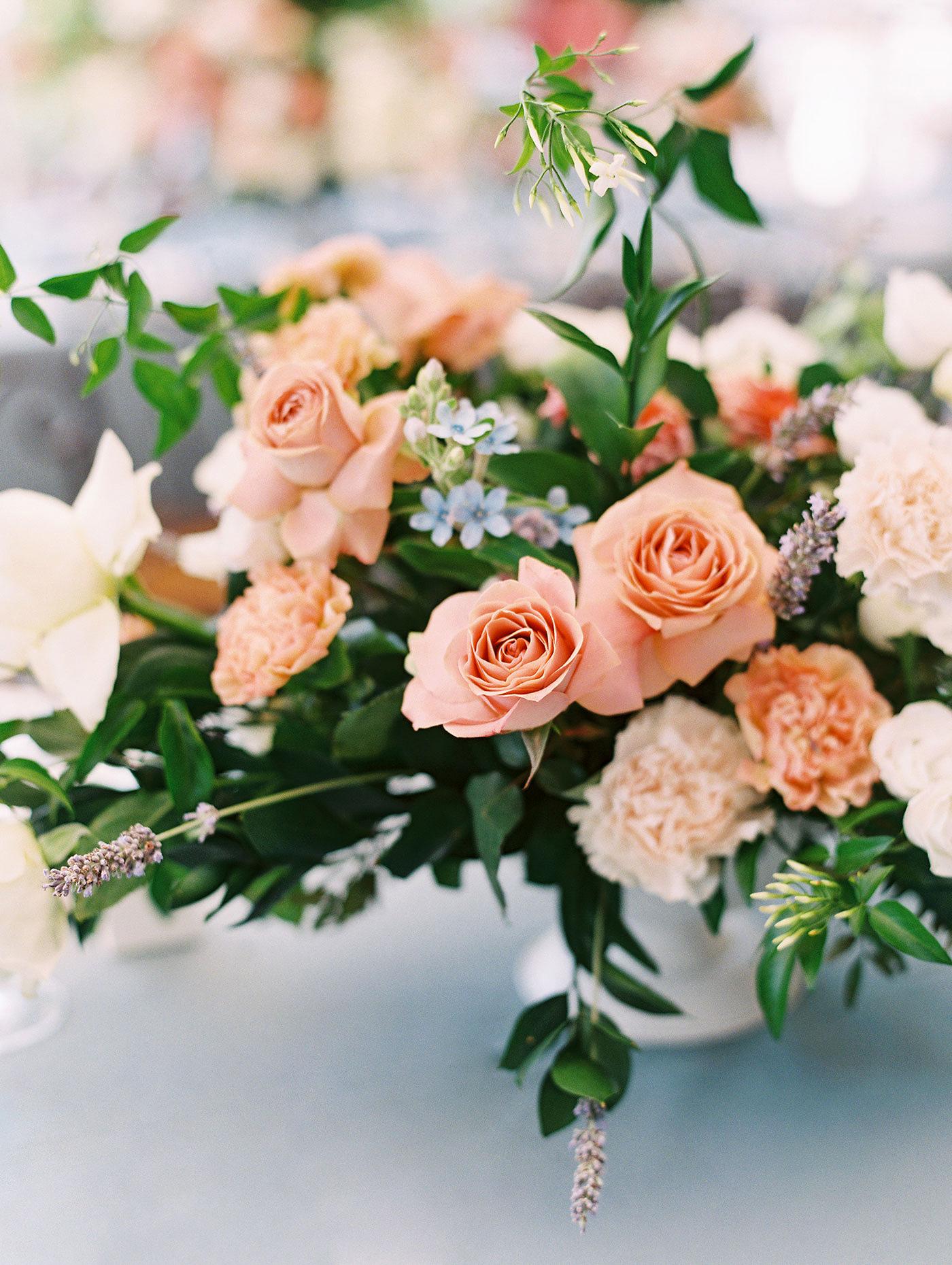 julia franz wedding reception centerpieces