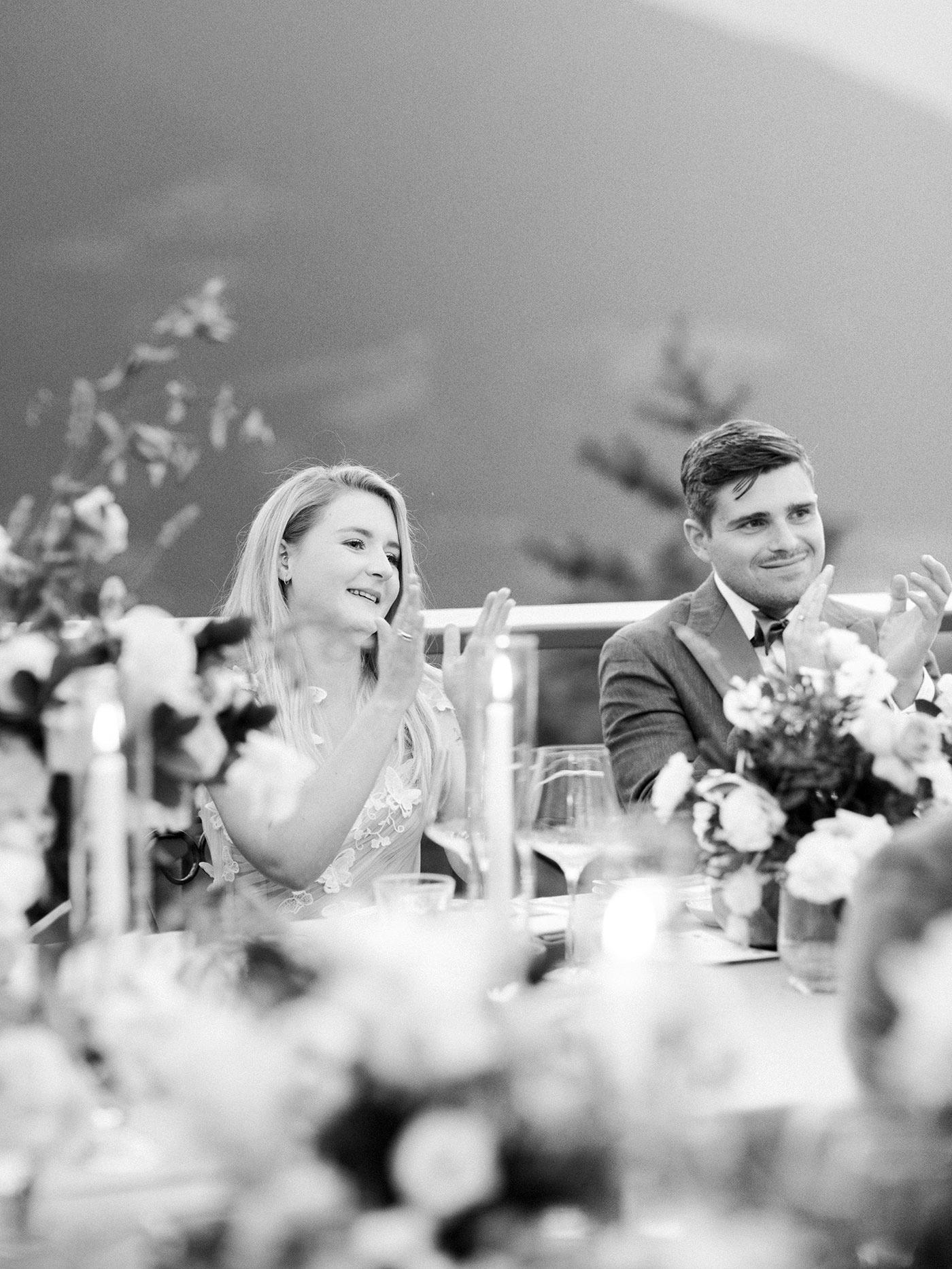 julia franz wedding speeches bride and groom