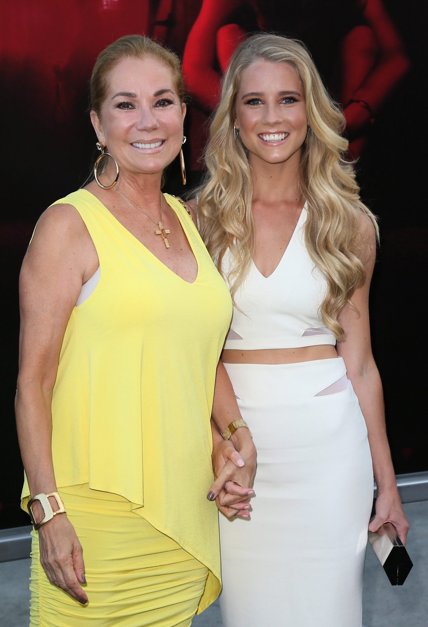 Kathie Lee Gifford and Cassidy Gifford on red carpet