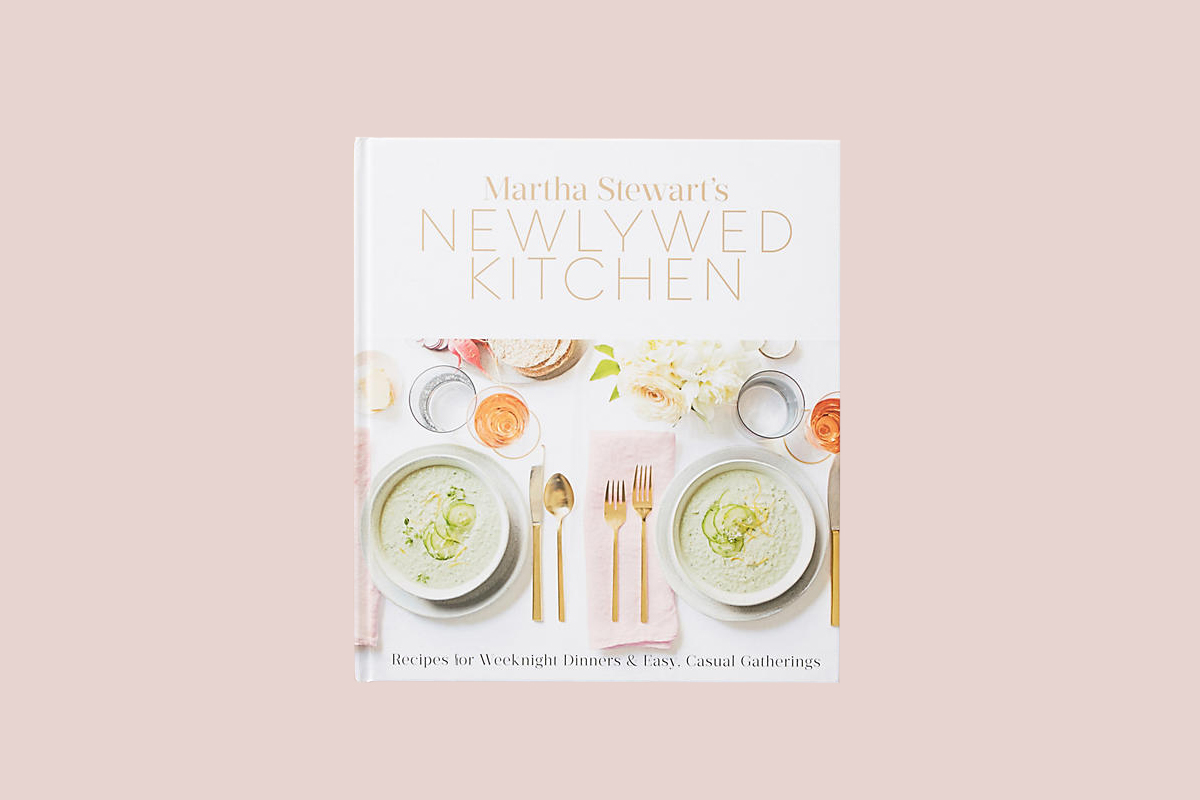 newlywed kitchen cookbook gift