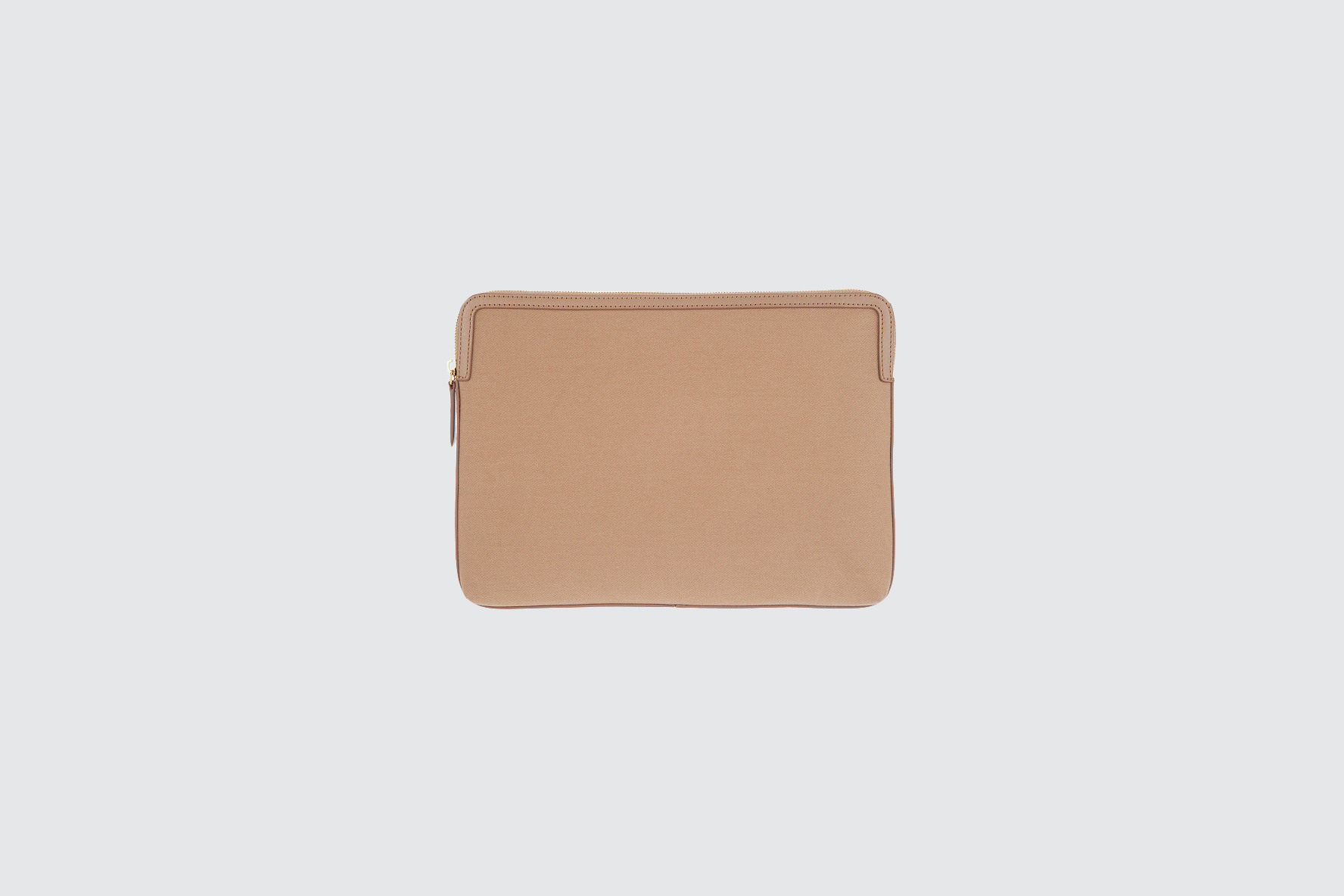 martha stewart large tan pouch