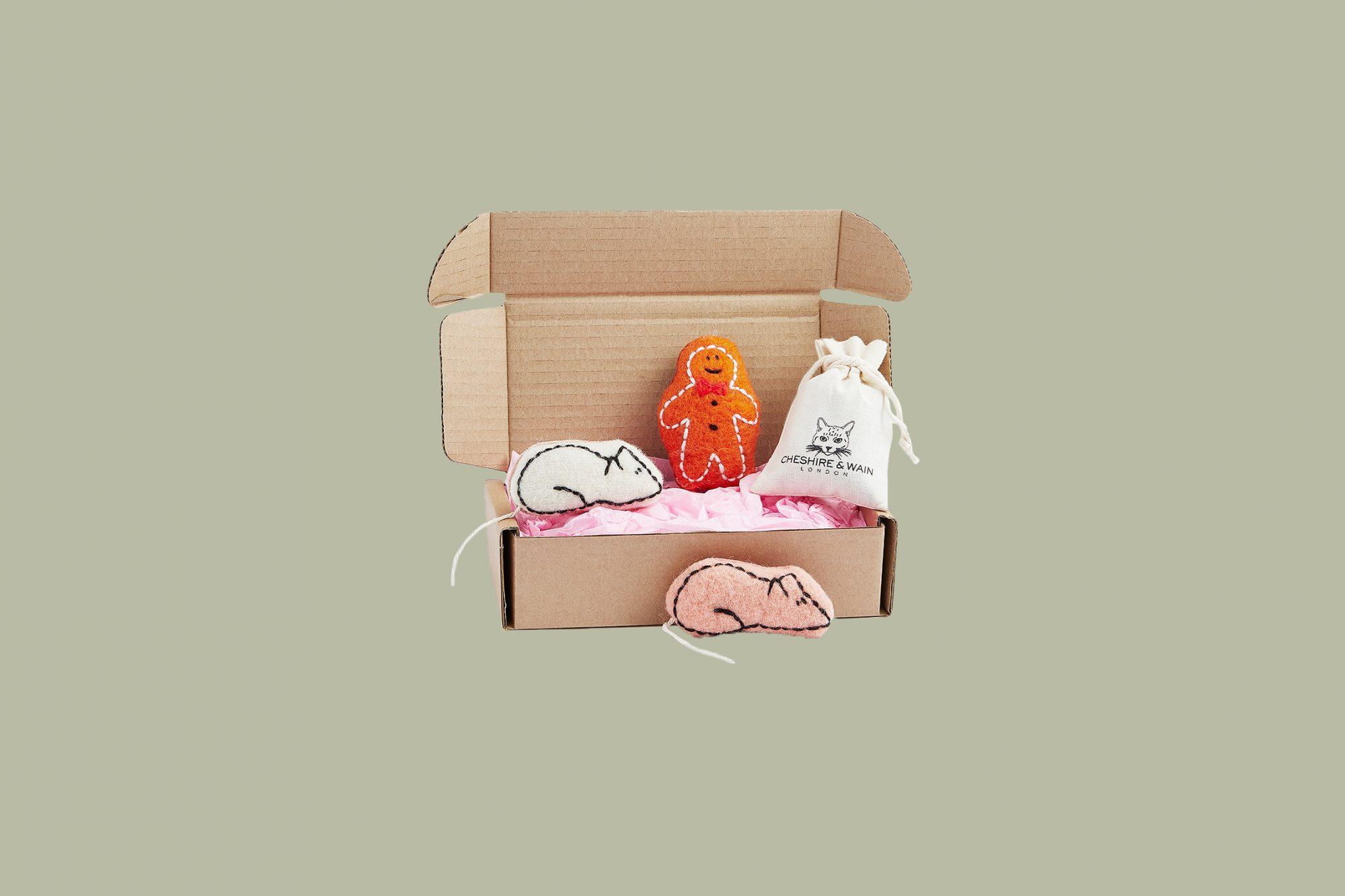 """Cheshire & Wain """"Sweet Tooth"""" Catnip Gift Box"""