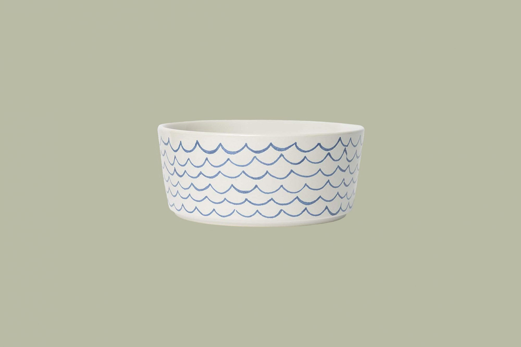 "Waggo ""Sketched Wave"" Dog Bowl"