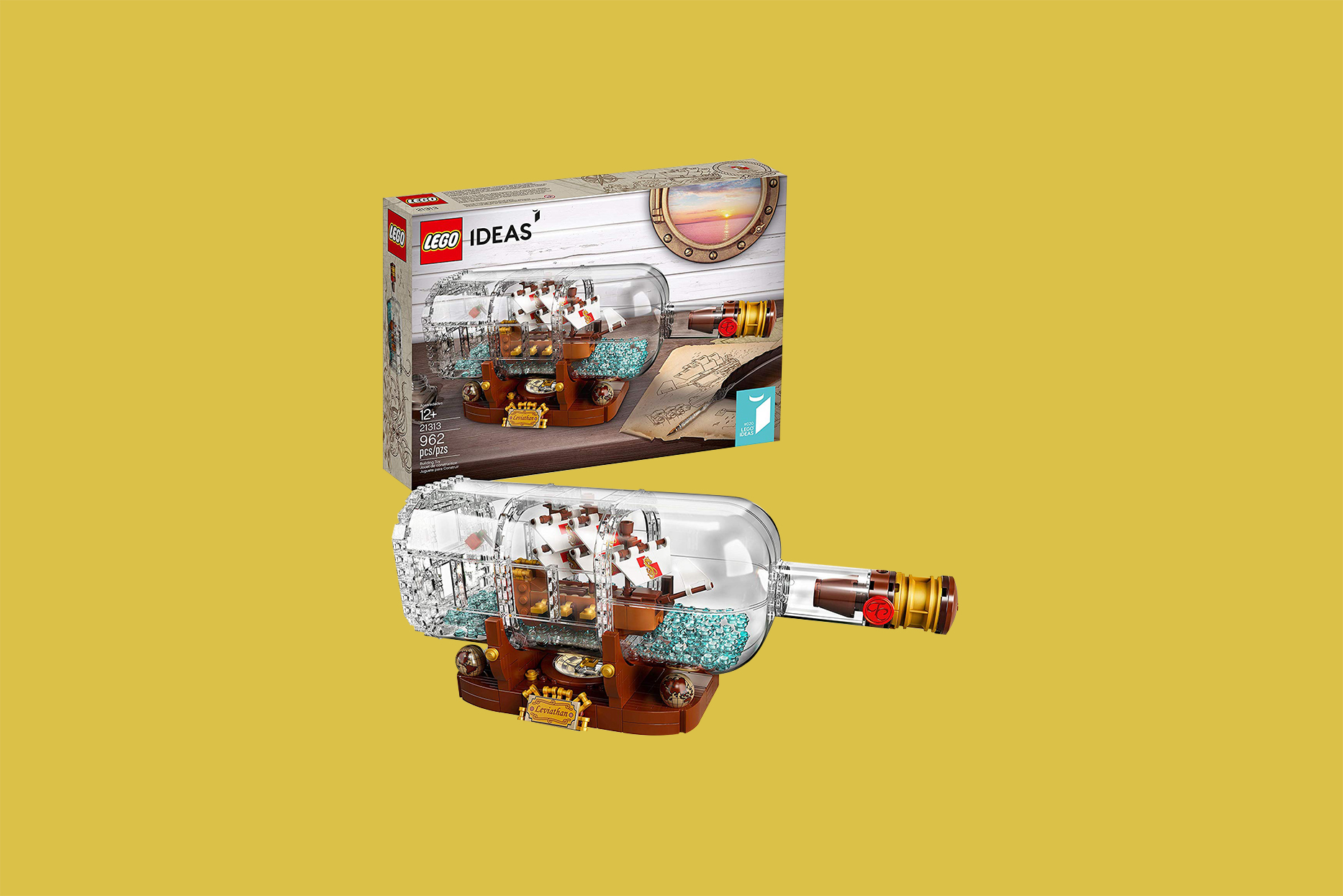 Ship in a Bottle LEGO Set