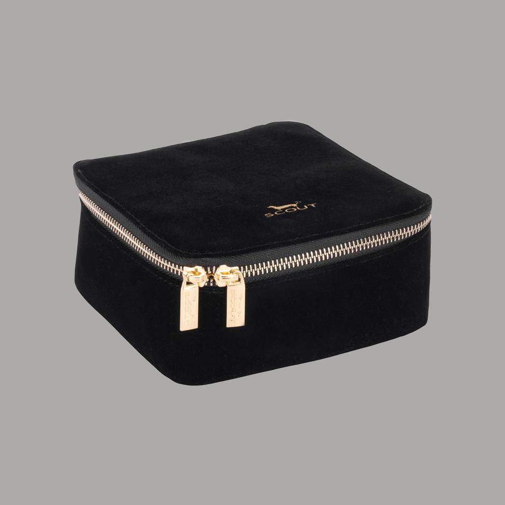 "Scout Bags ""Hidden Gem"" Black Velvet Jewelry Organizer"