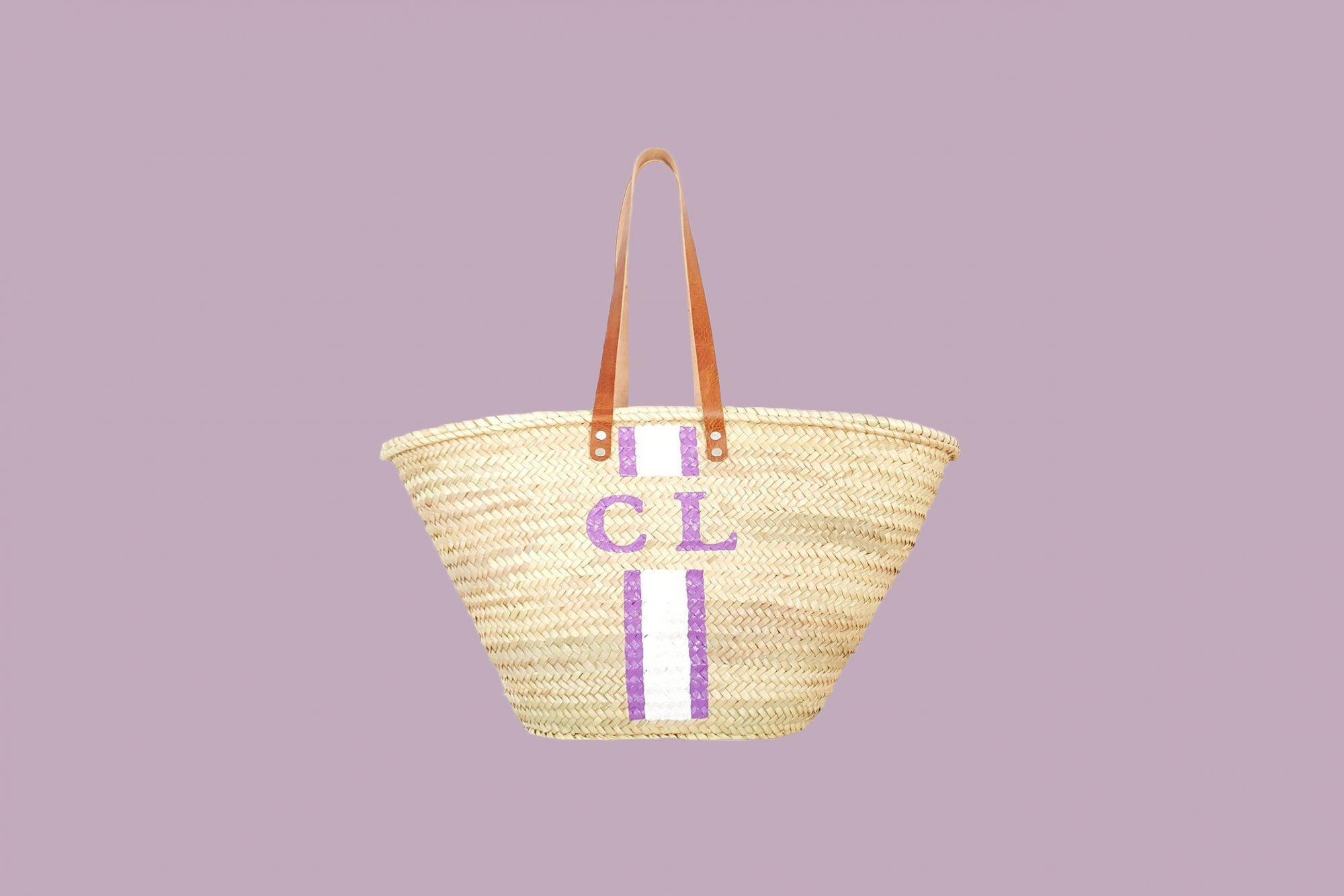 French Beach Bag Straw Beach Bag