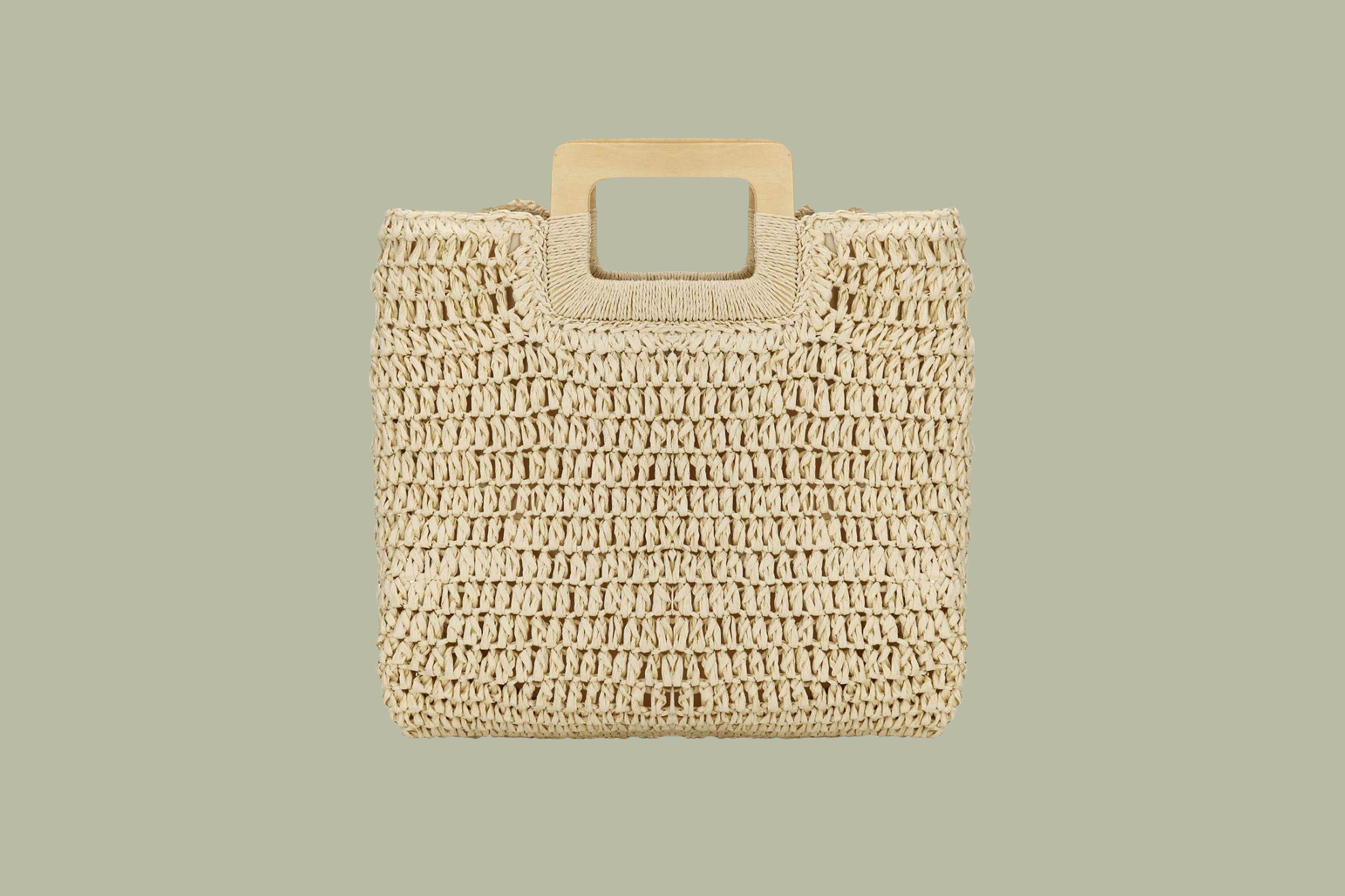 YYW Large Straw Tote