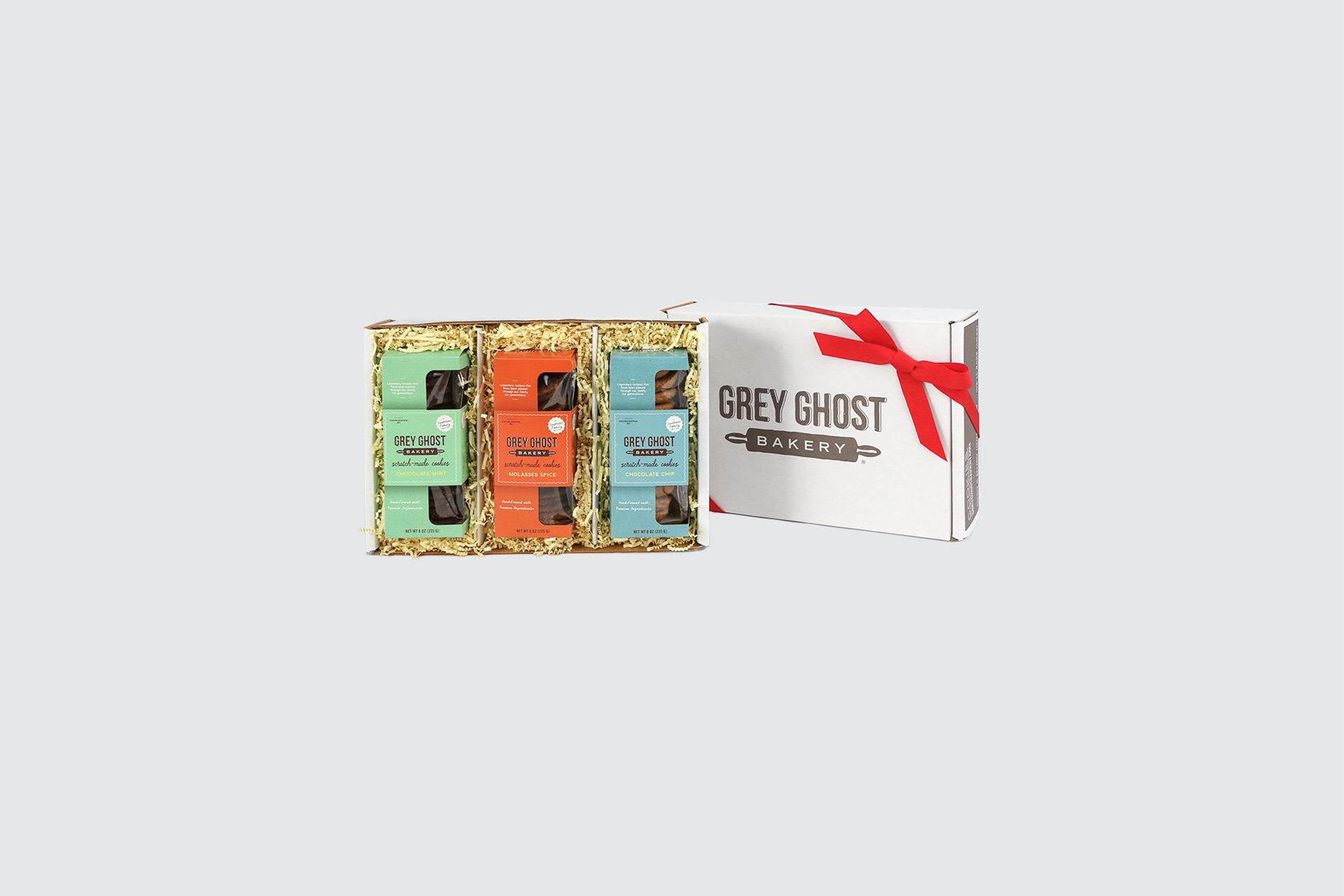grey ghost cookie gift box