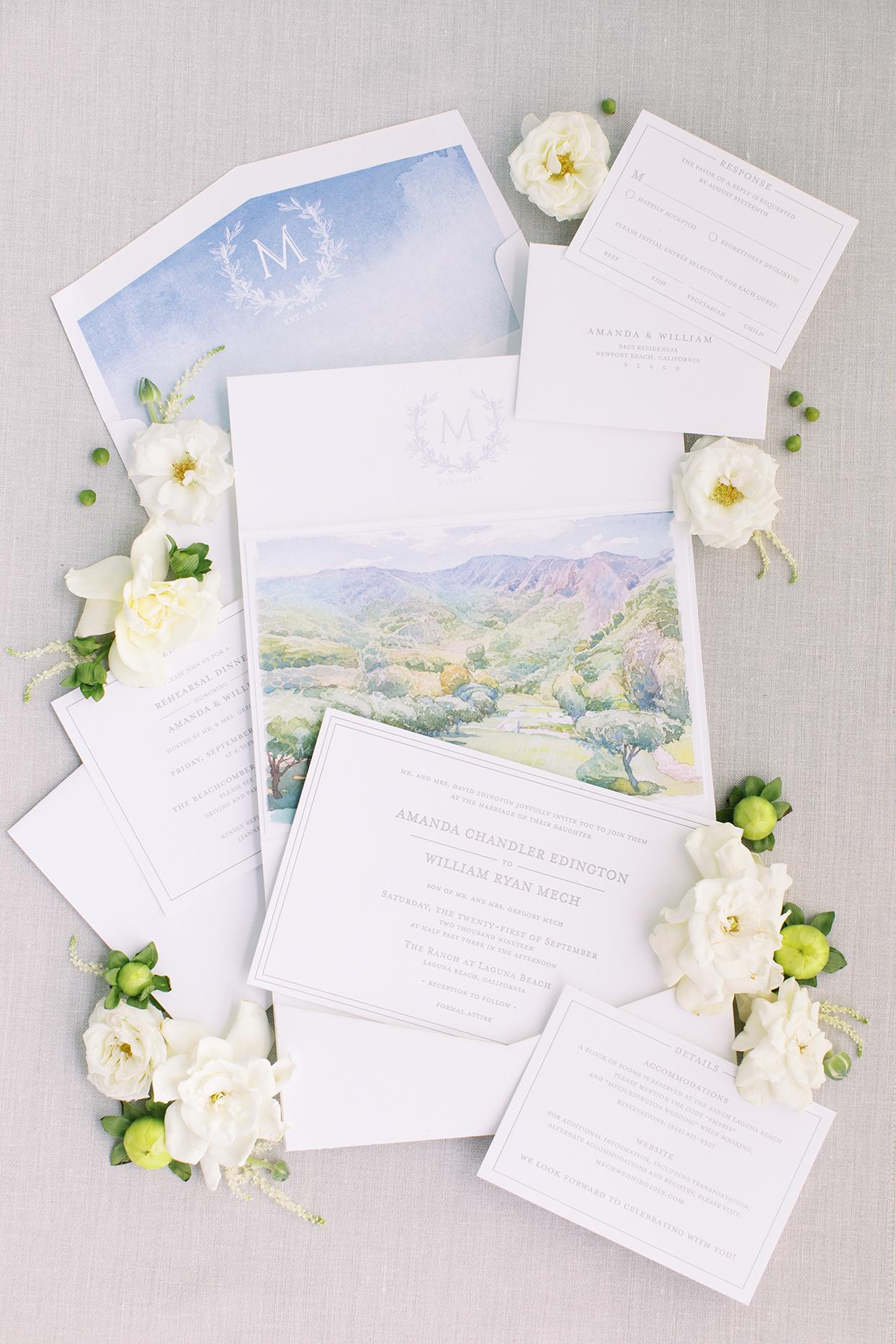 amanda will wedding invites