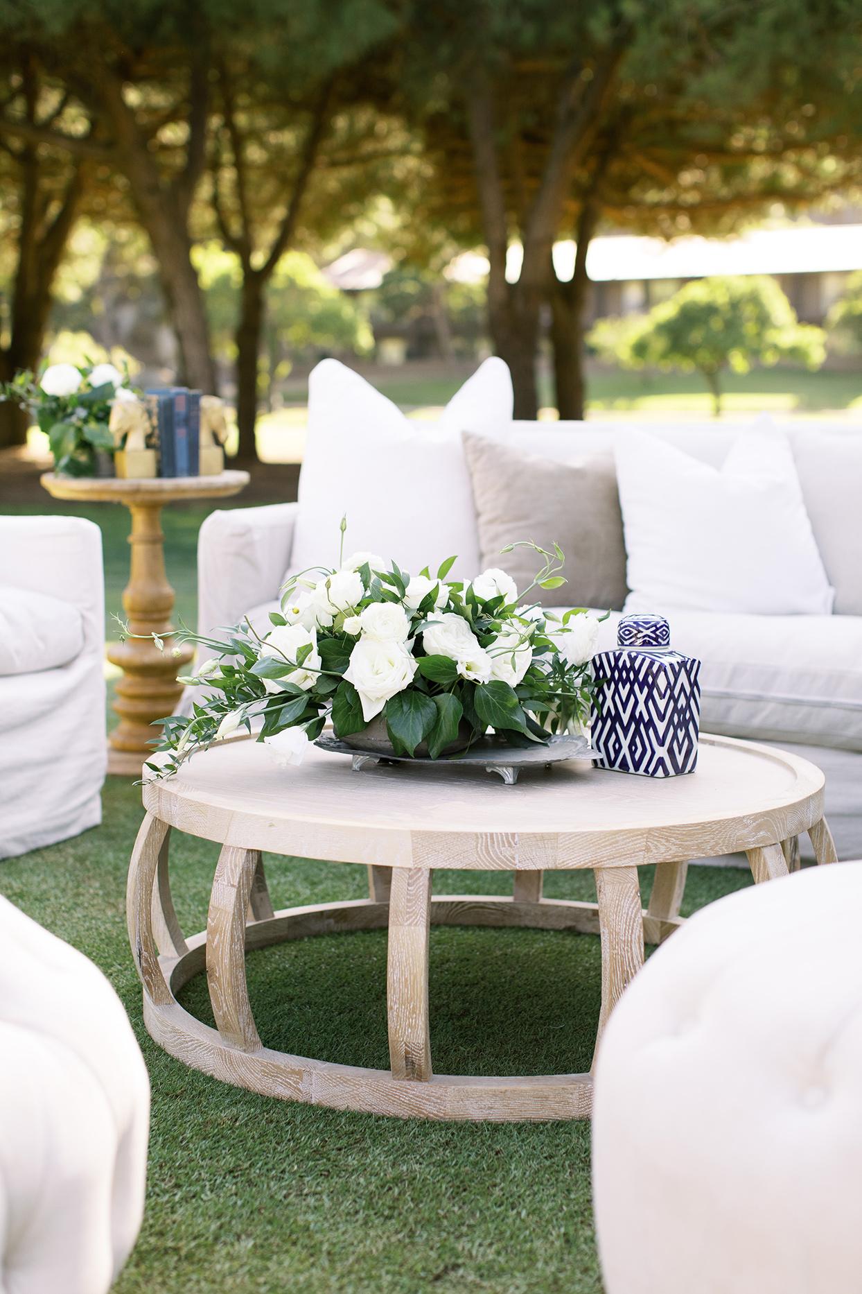 amanda will wedding white lounge furniture