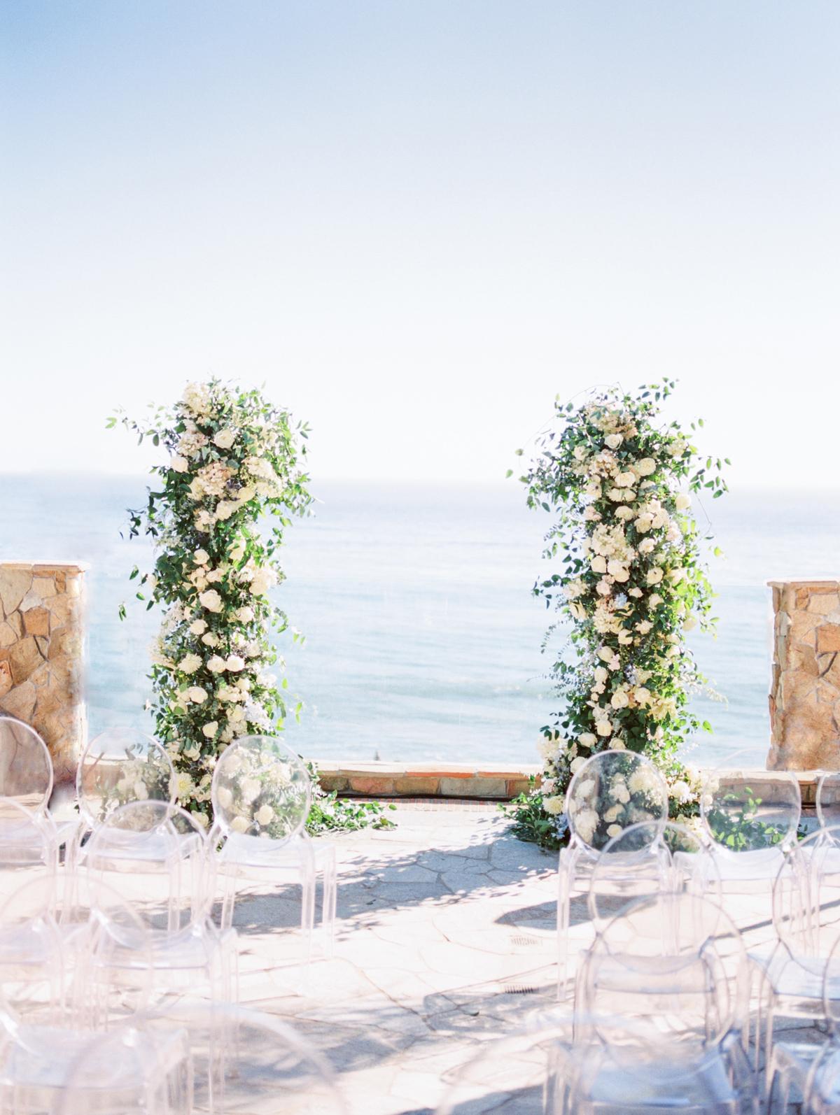 bettina gino wedding ceremony location overlooking water