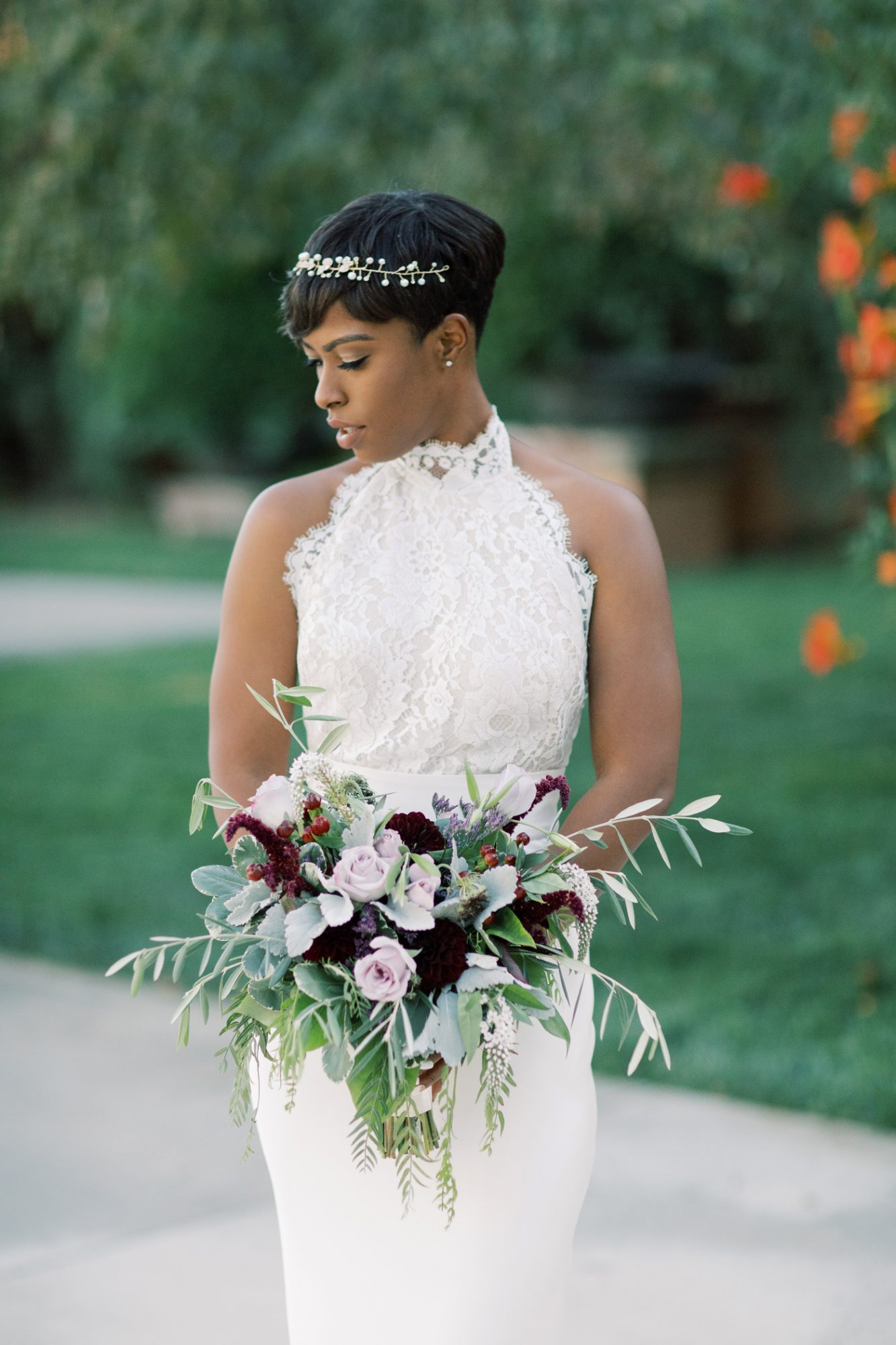 bridal portrait Chaya Crowder