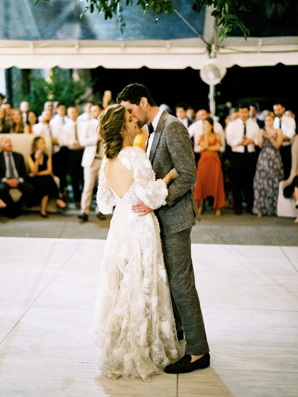 Claire and Dan's first dance as husband and wife