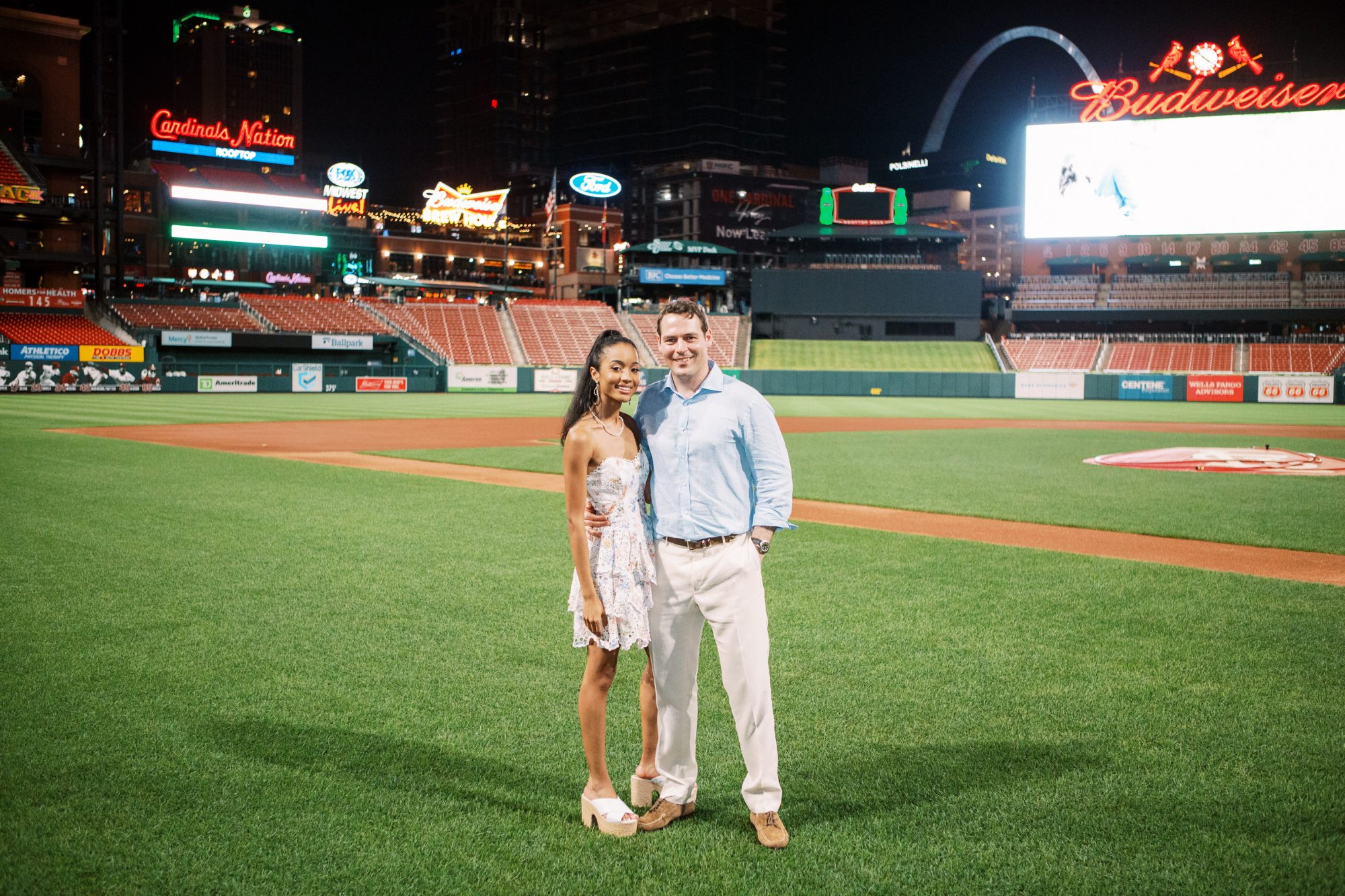 An Evening at Busch Stadium