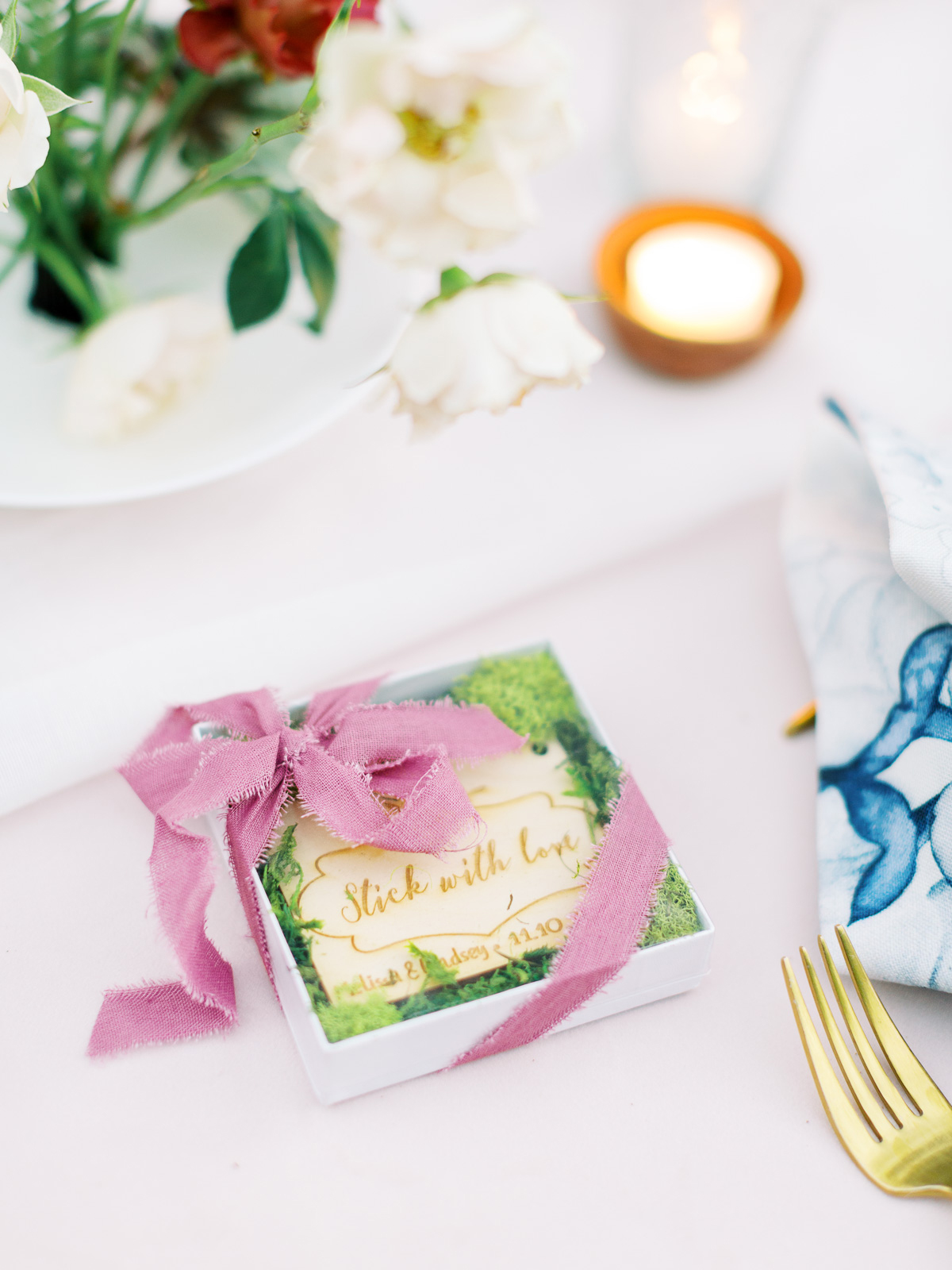 melissa lindsey wedding favors