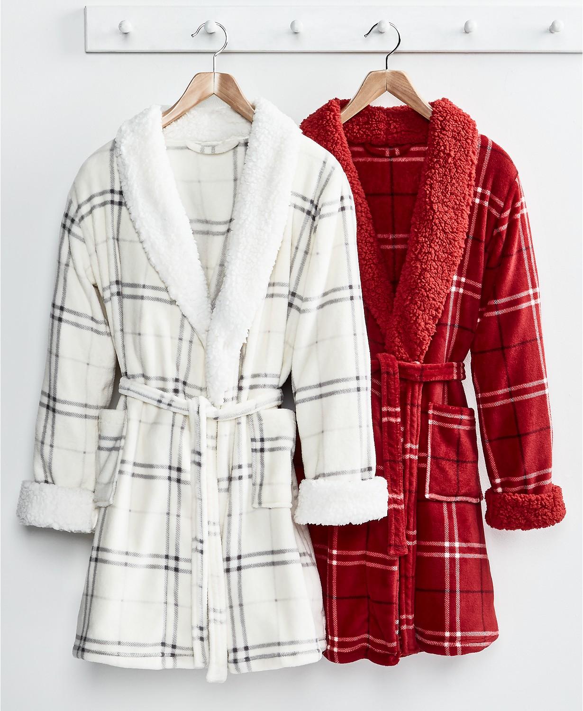 Martha Stewart Collection Plush Robes