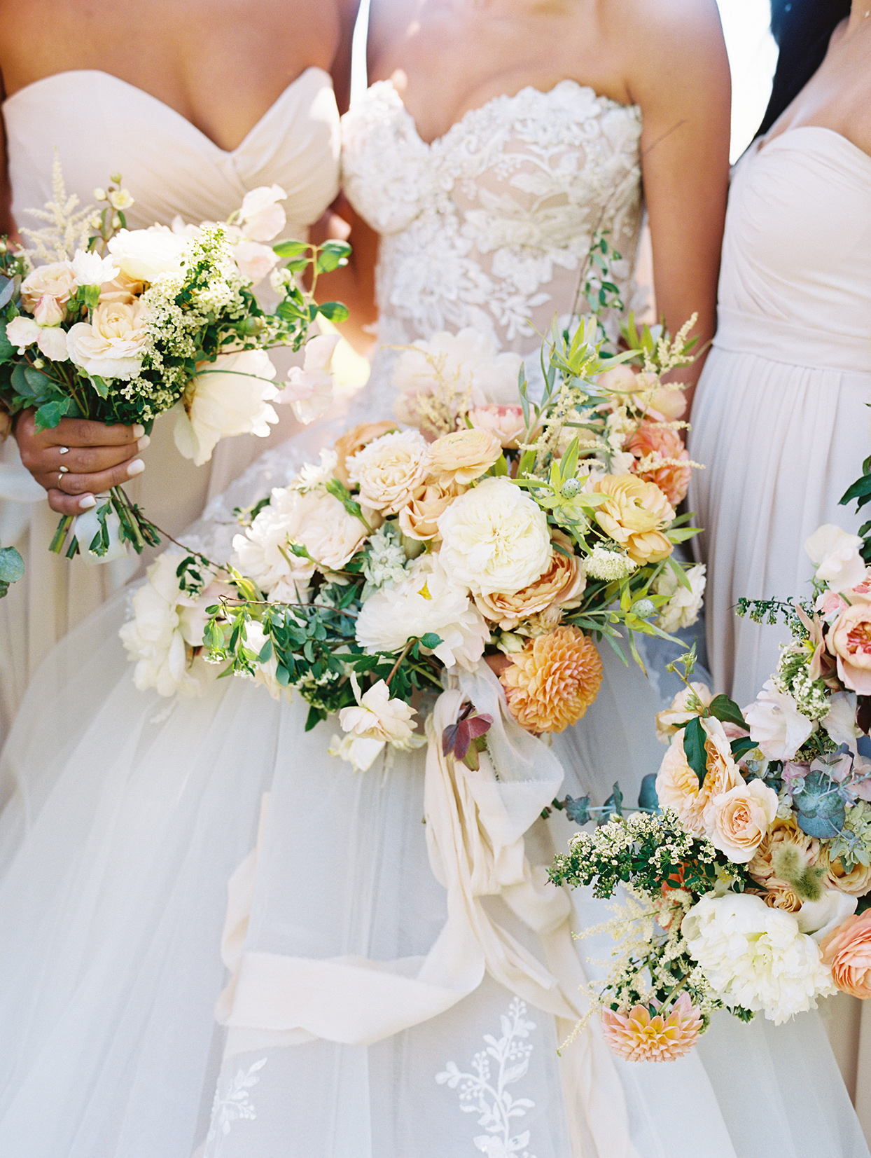 asha andrew wedding bridal bouquet