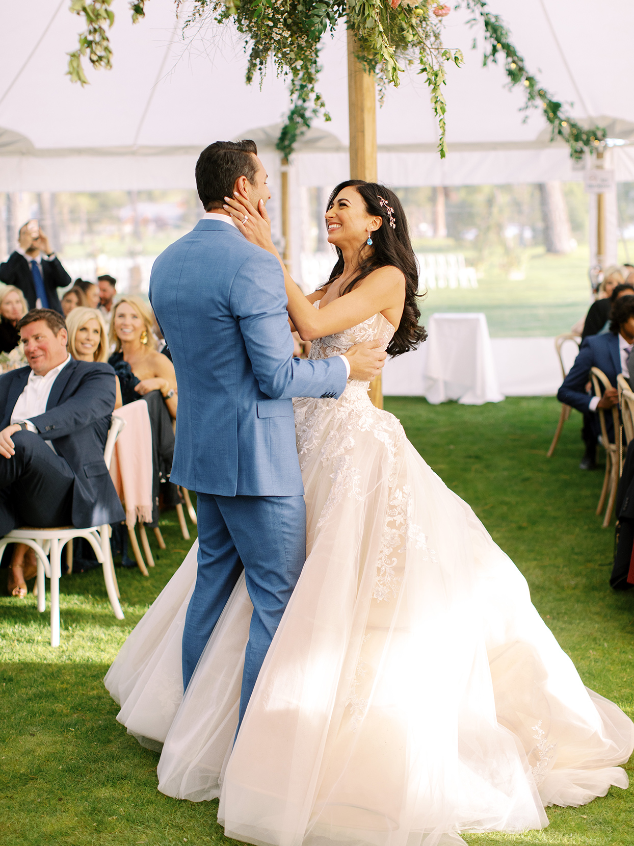 asha andrew wedding couple first dance