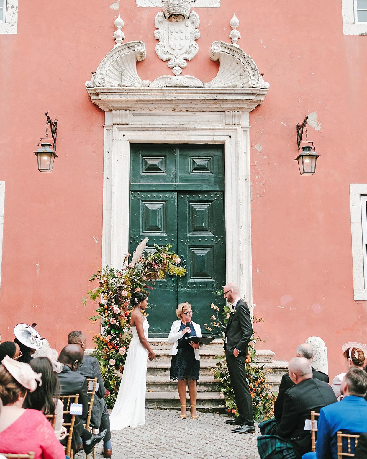 emily scott wedding ceremony officiant reading