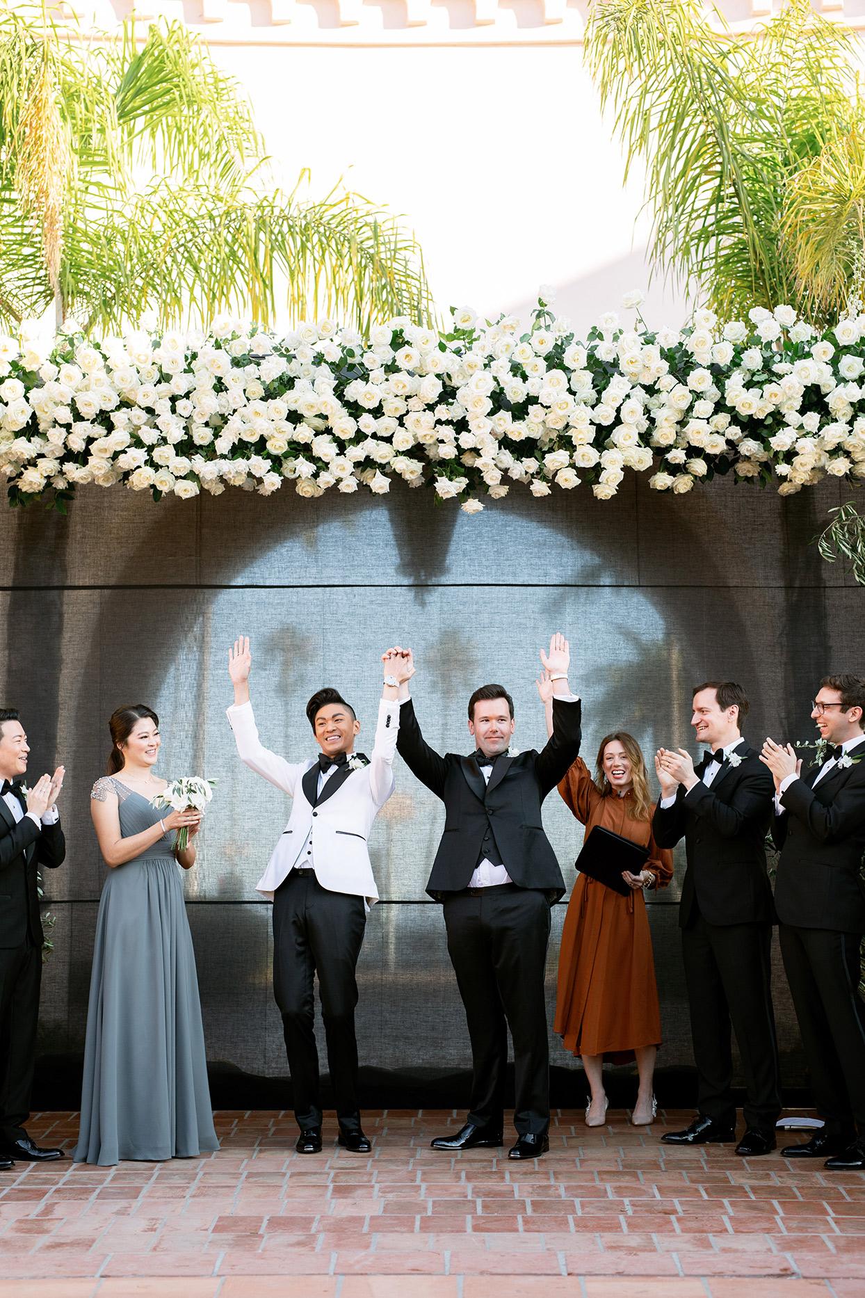 jason justin wedding grooms ceremony