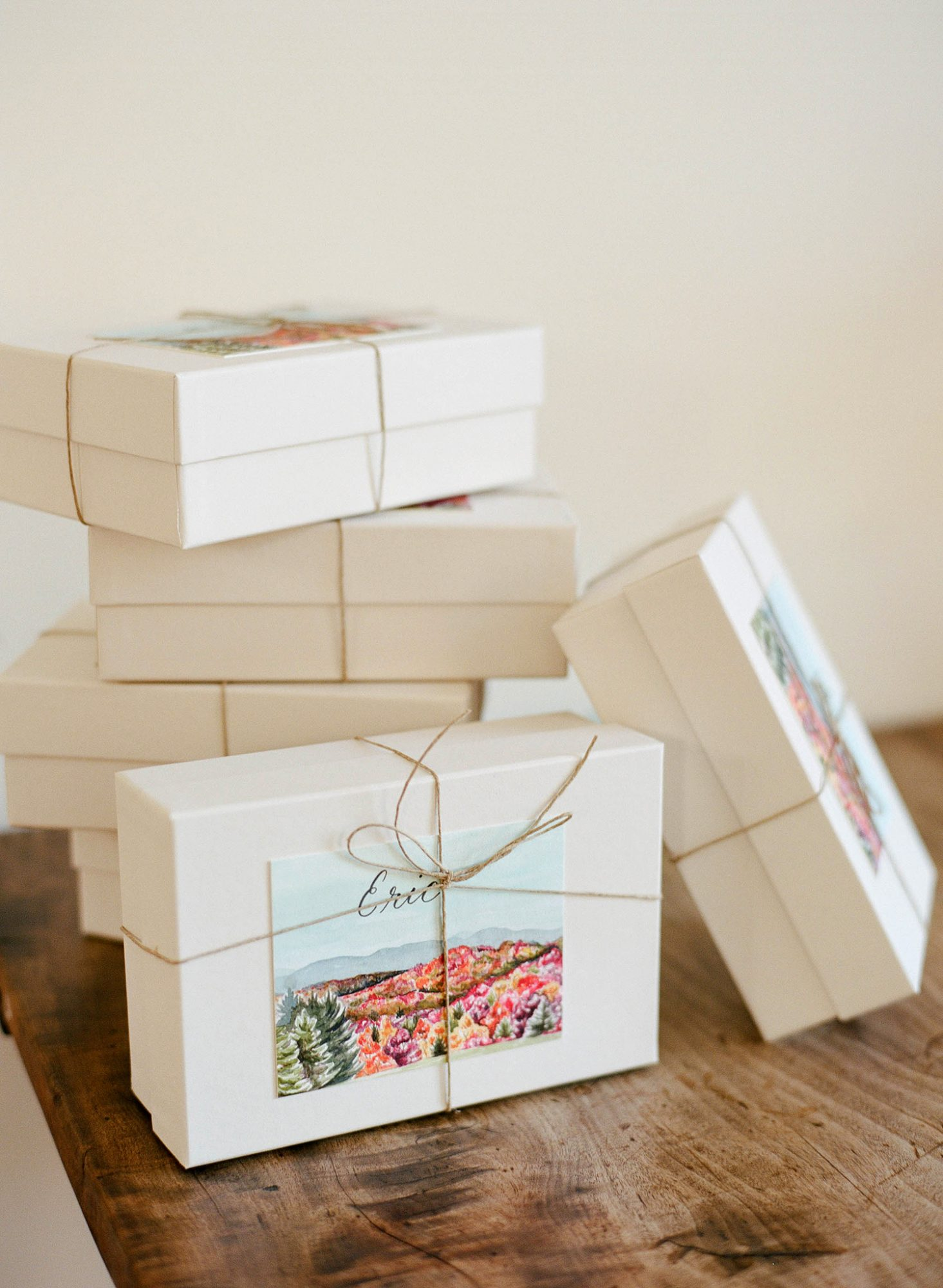 sarah jake wedding favors