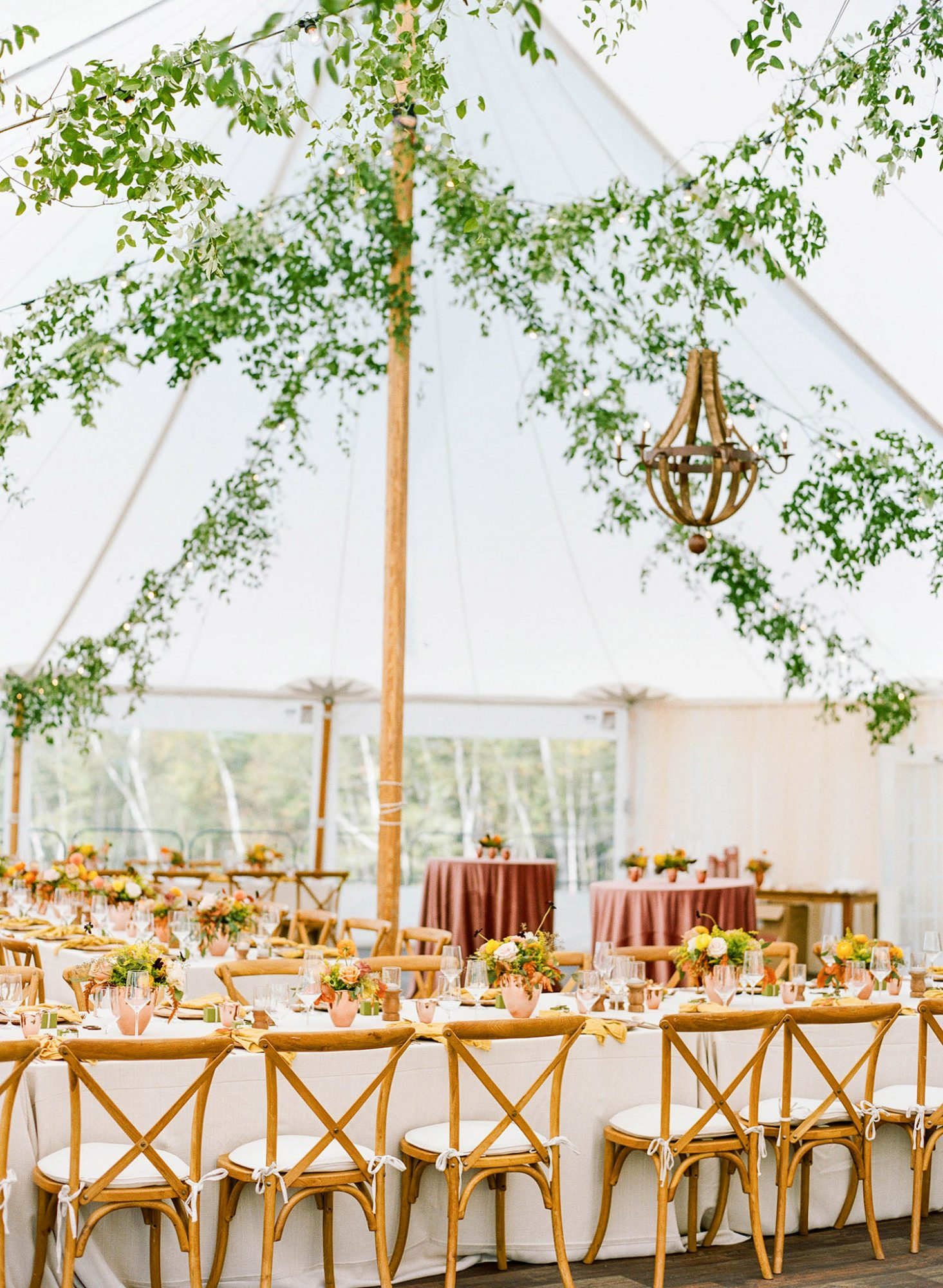 sarah jake wedding reception tent