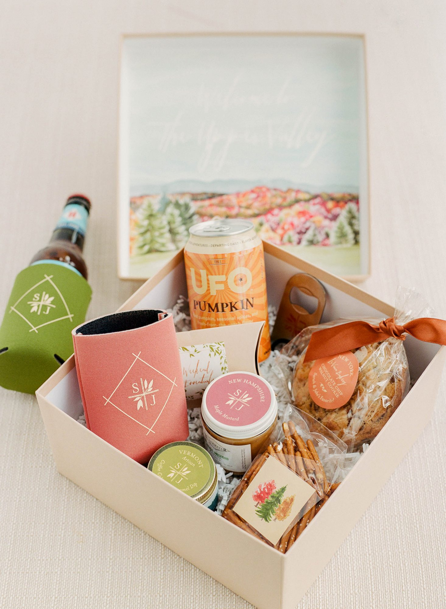 sarah jake wedding welcome boxes
