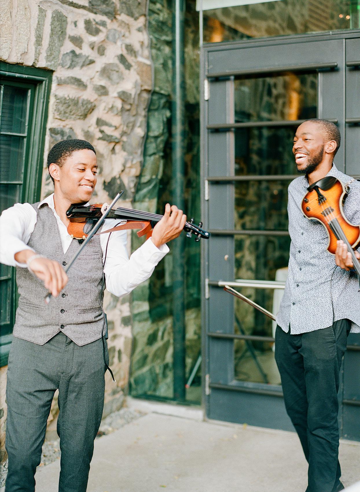 shelby david wedding electric violinists