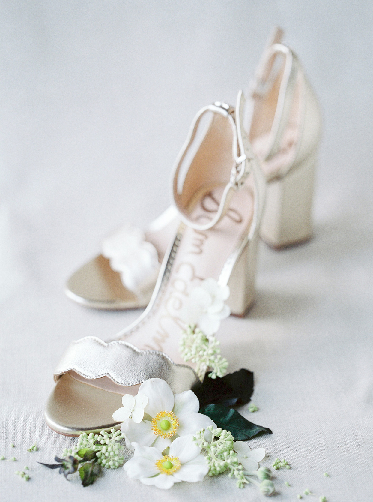 alyssa macia wedding bride's shoes