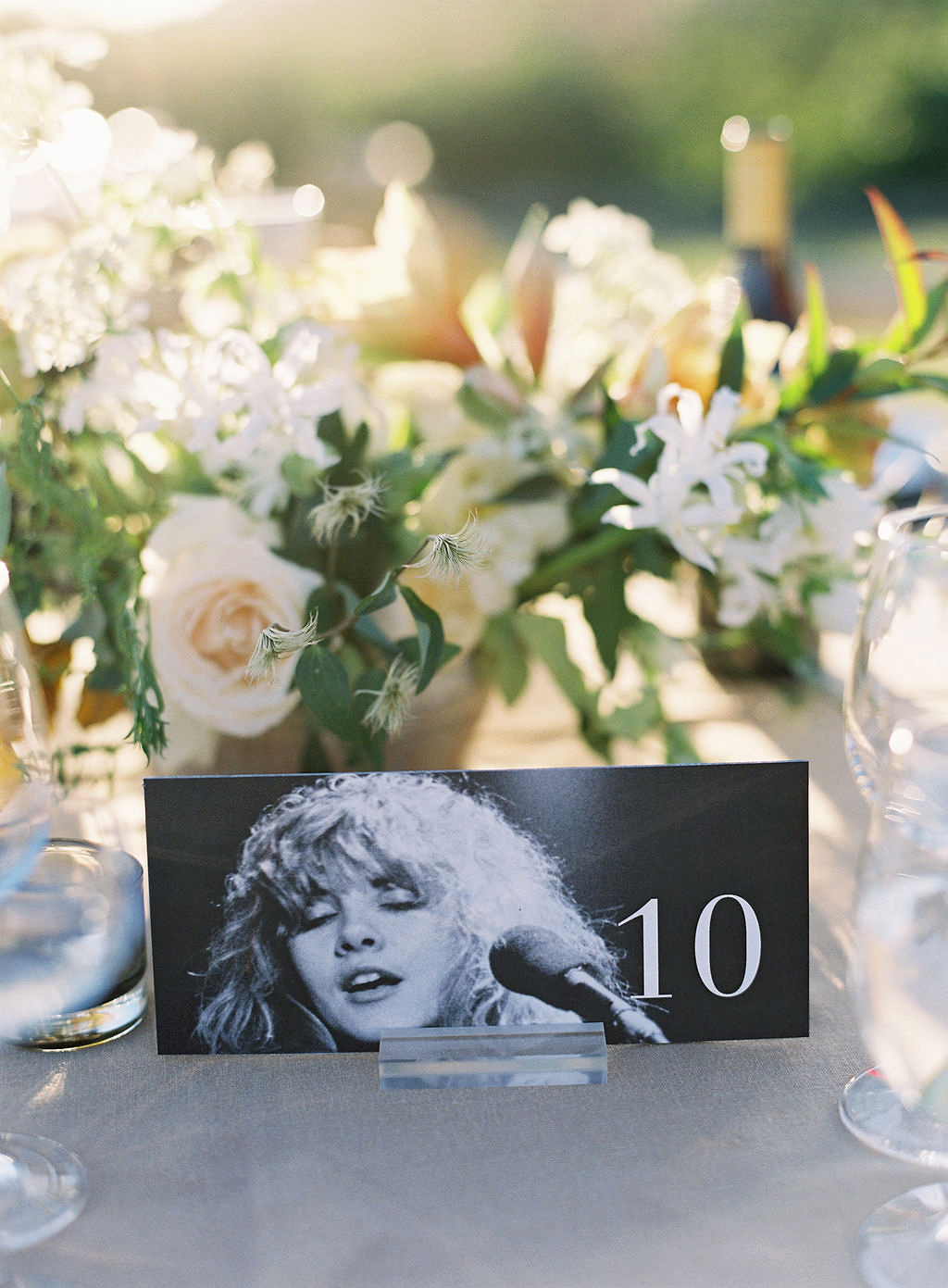 becca joey wedding table numbers