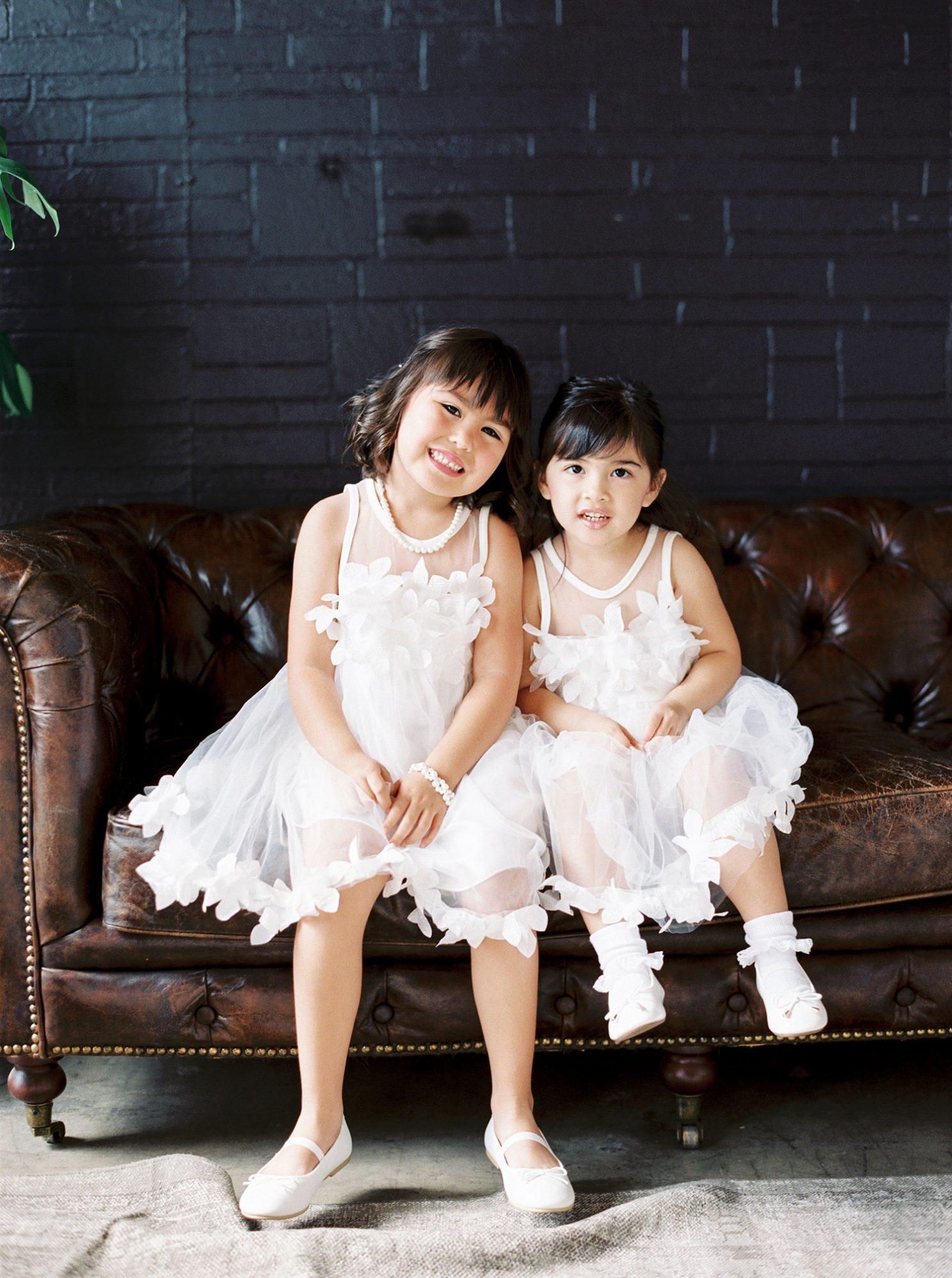 dawn jordan wedding flower girls