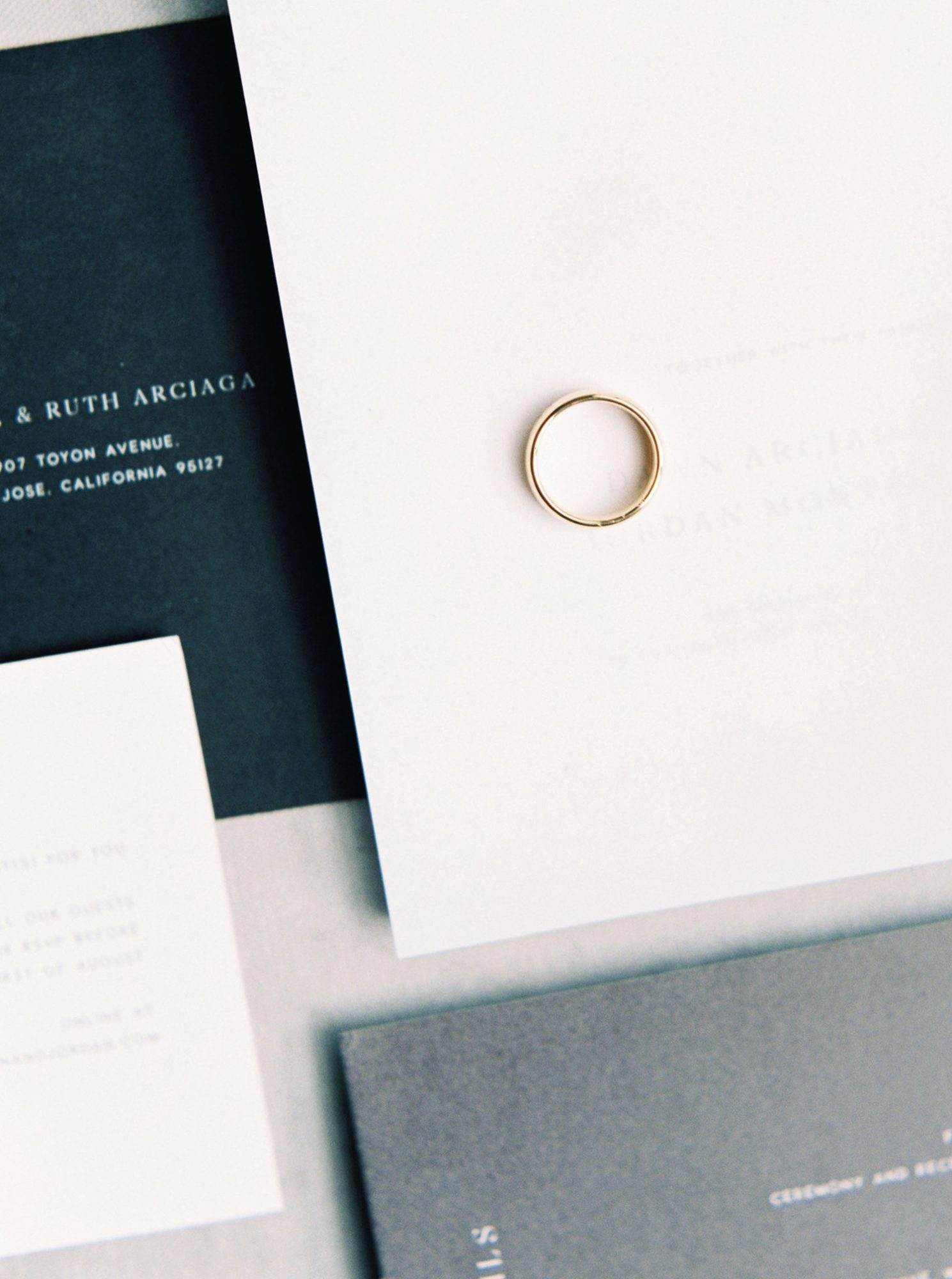 dawn jordan wedding ring and invites
