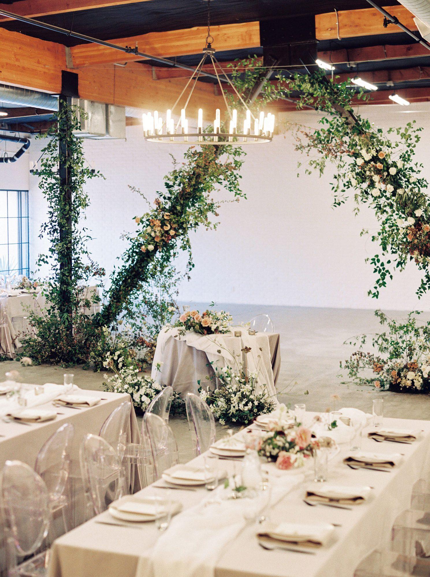 dawn jordan wedding reception space