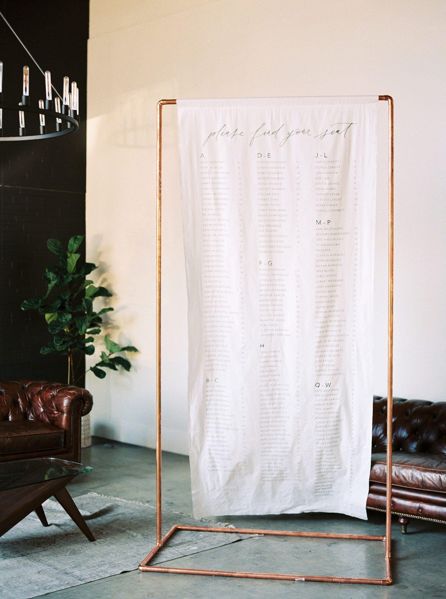 dawn jordan wedding seating chart