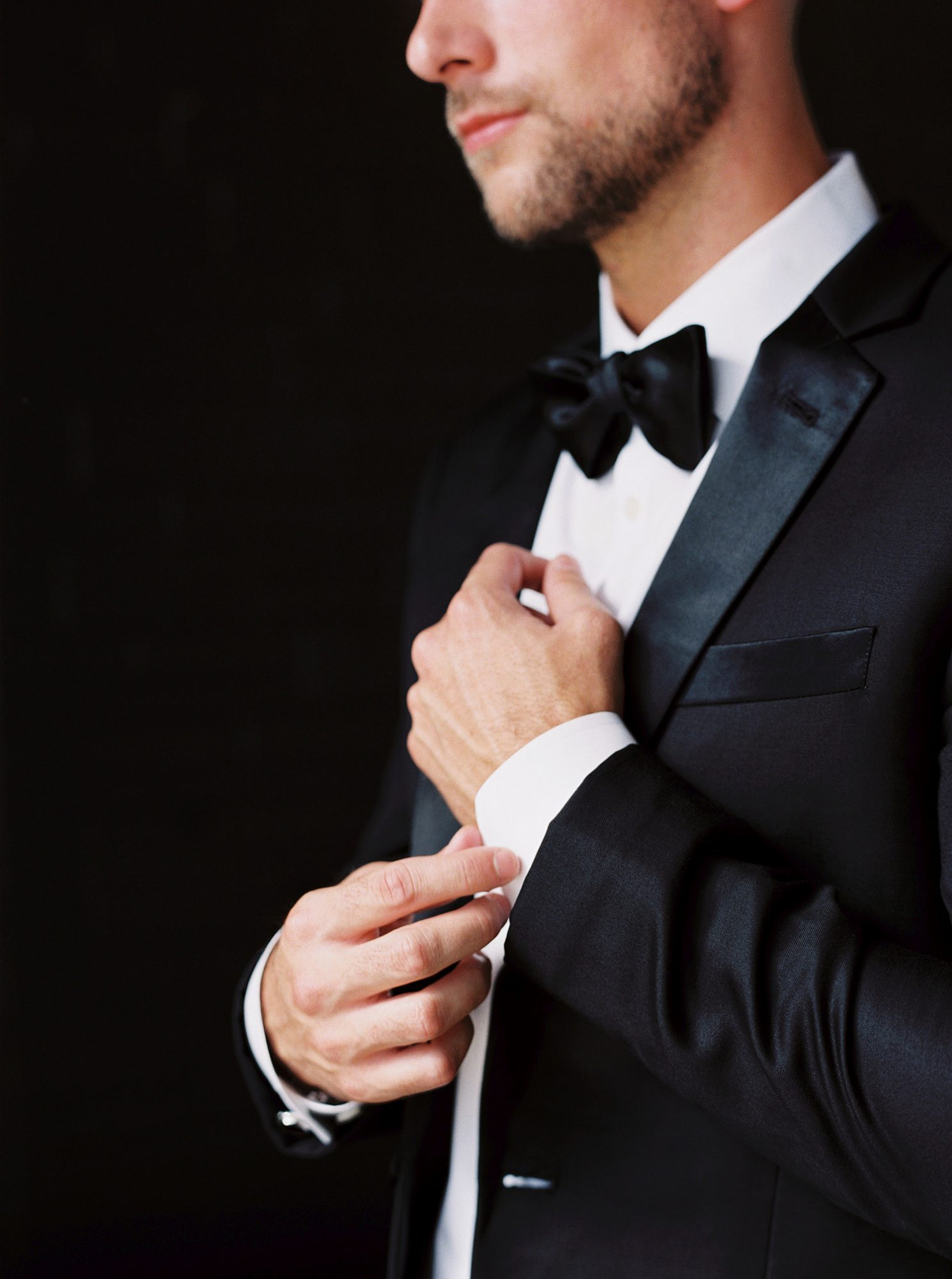dawn jordan wedding tuxedo groom