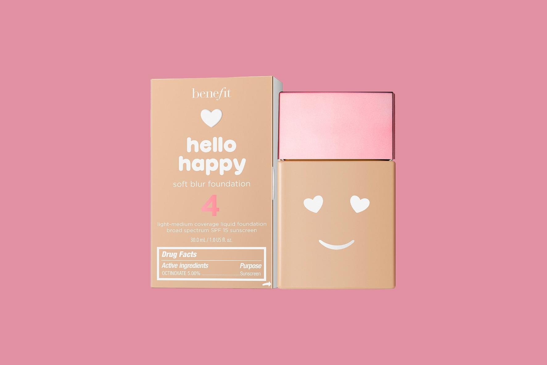 Benefit Cosmetics Hello Happy Soft Blur Foundation Mini SPF 15