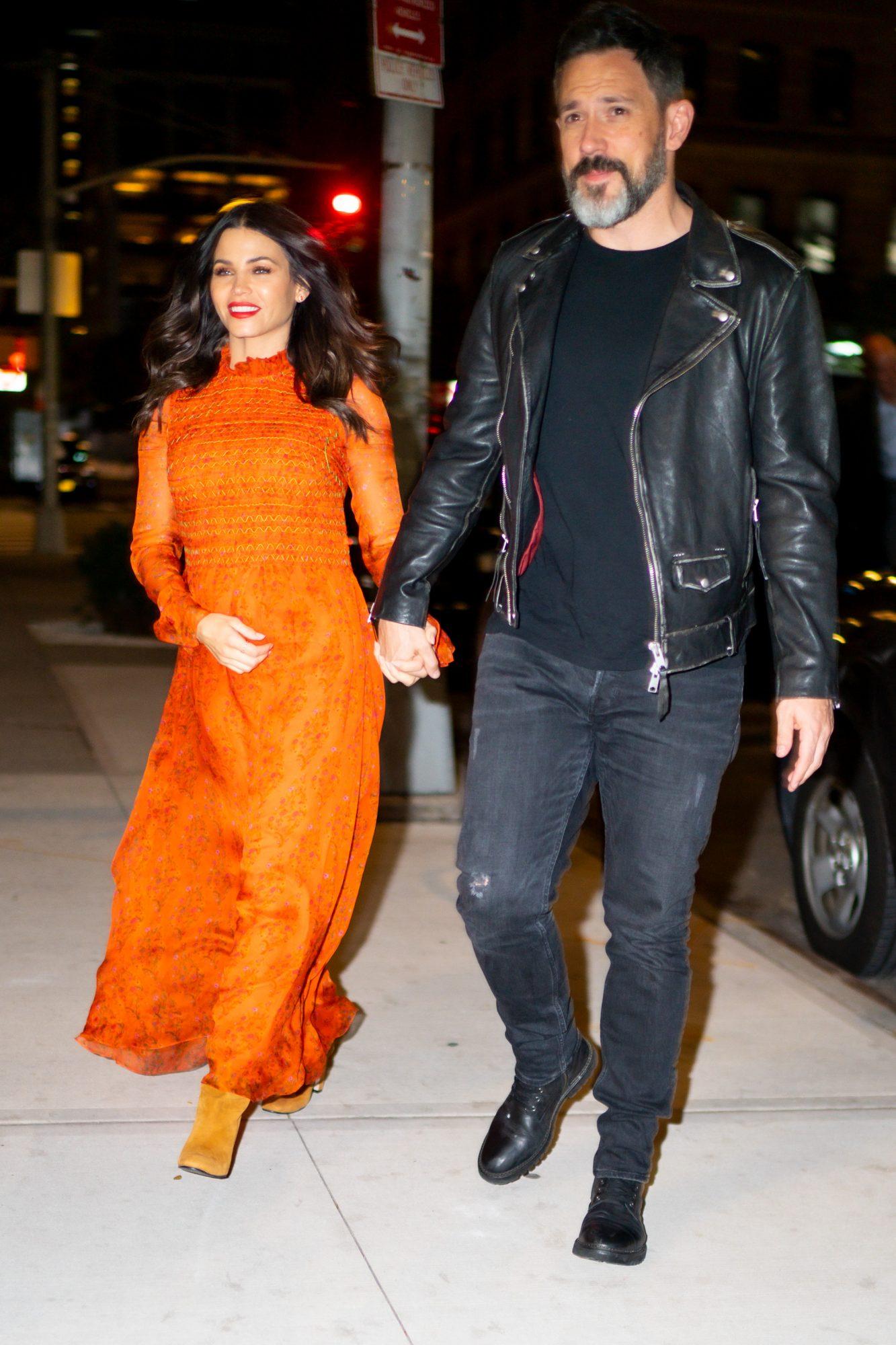 jenna dewan steve kazee walking in new york