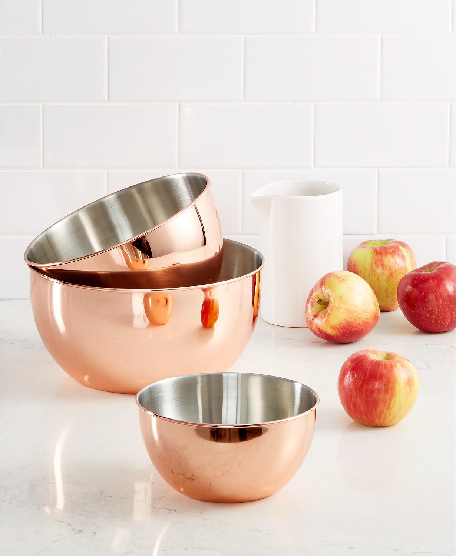 Martha Stewart Collection Copper Nesting Bowls