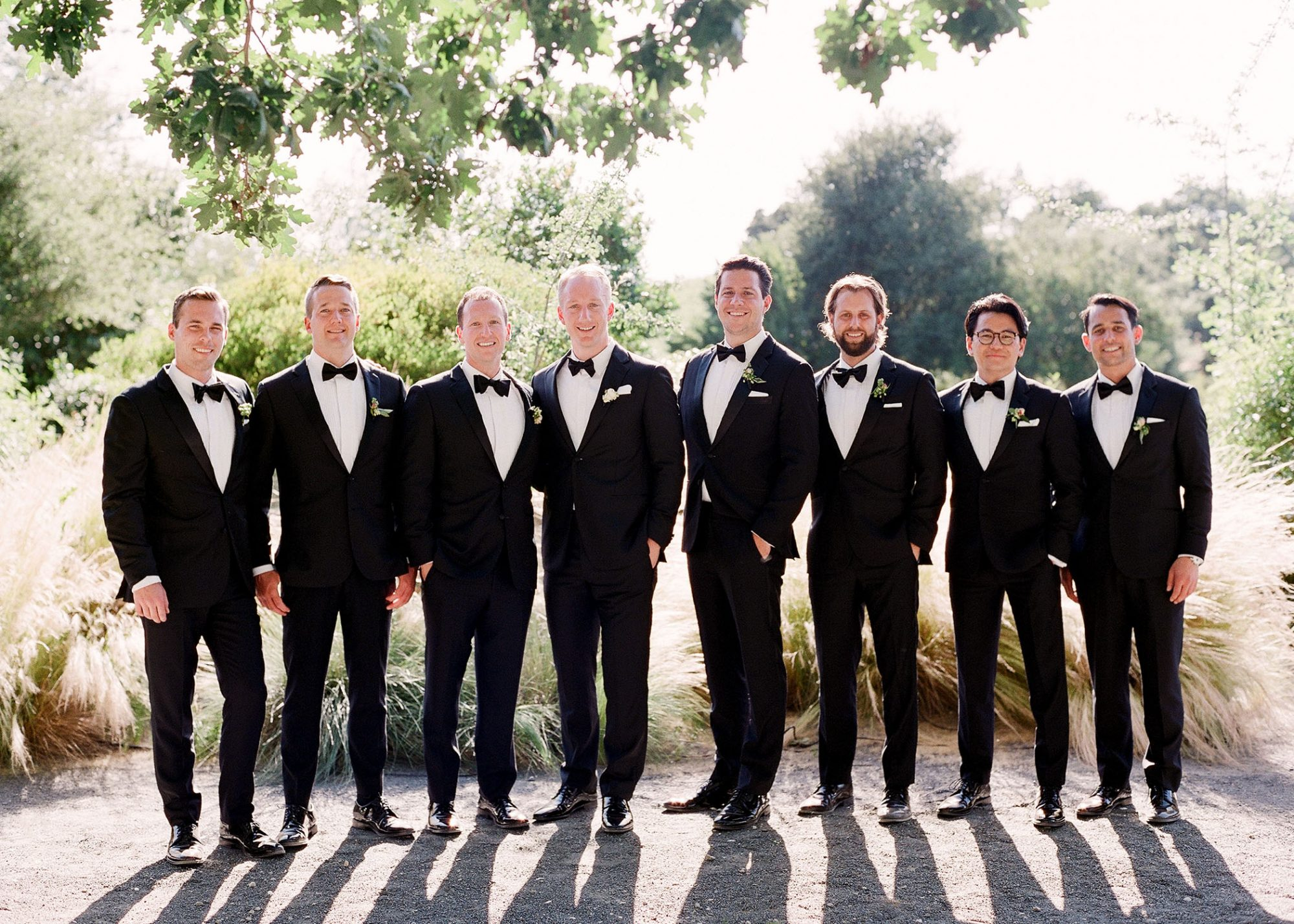 tamara erik wedding groomsmen