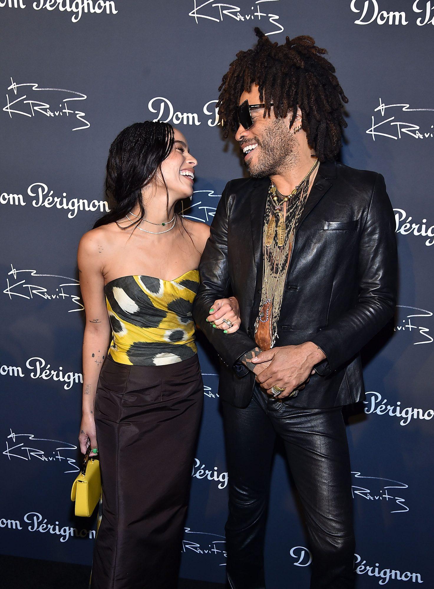 Lenny Kravitz's Last-Minute Speech Had Zoë Kravitz in Tears on Her Wedding Day