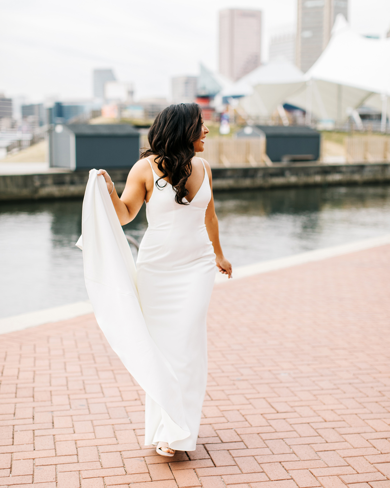jessica ali wedding bride dress
