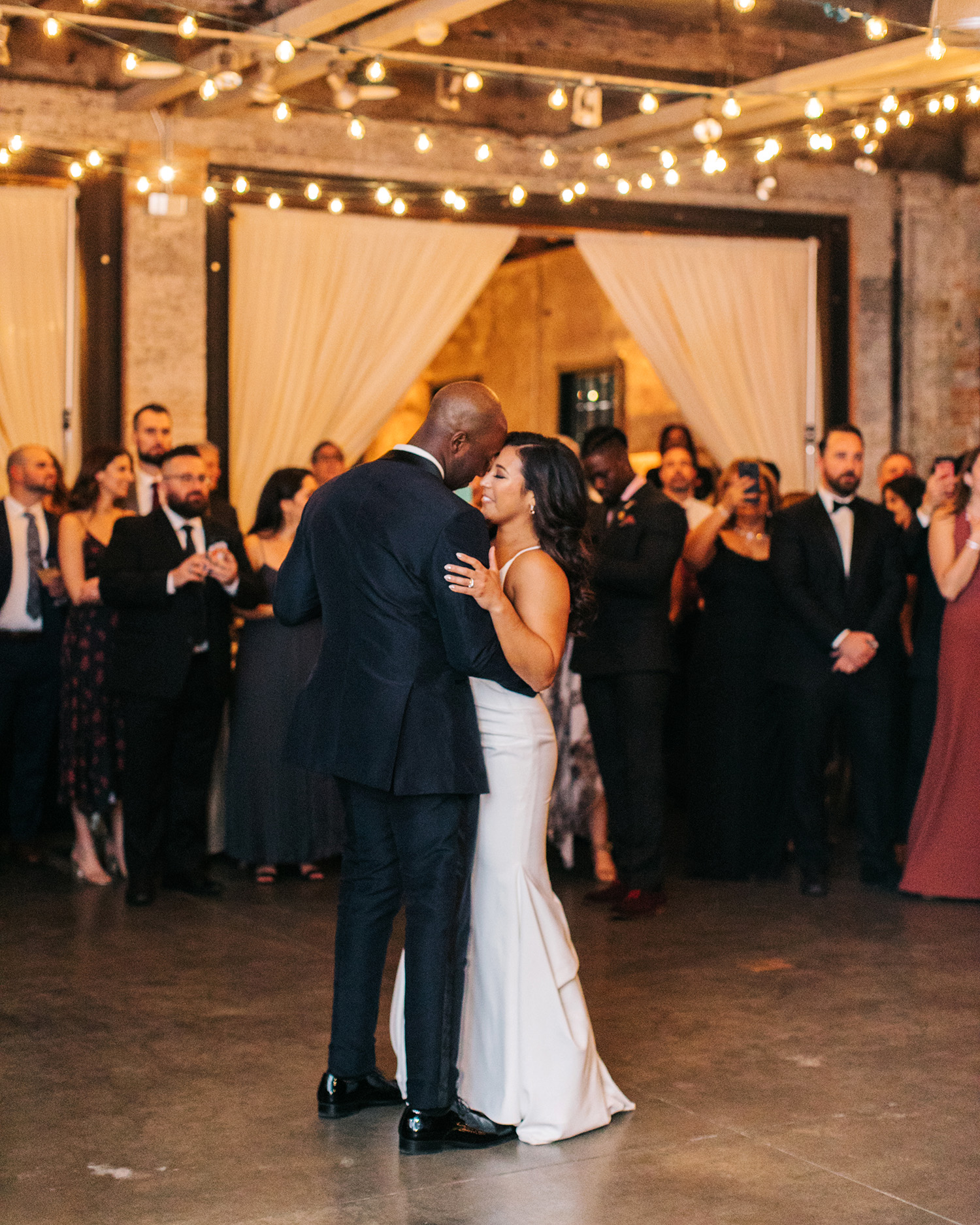 jessica ali wedding couple first dance