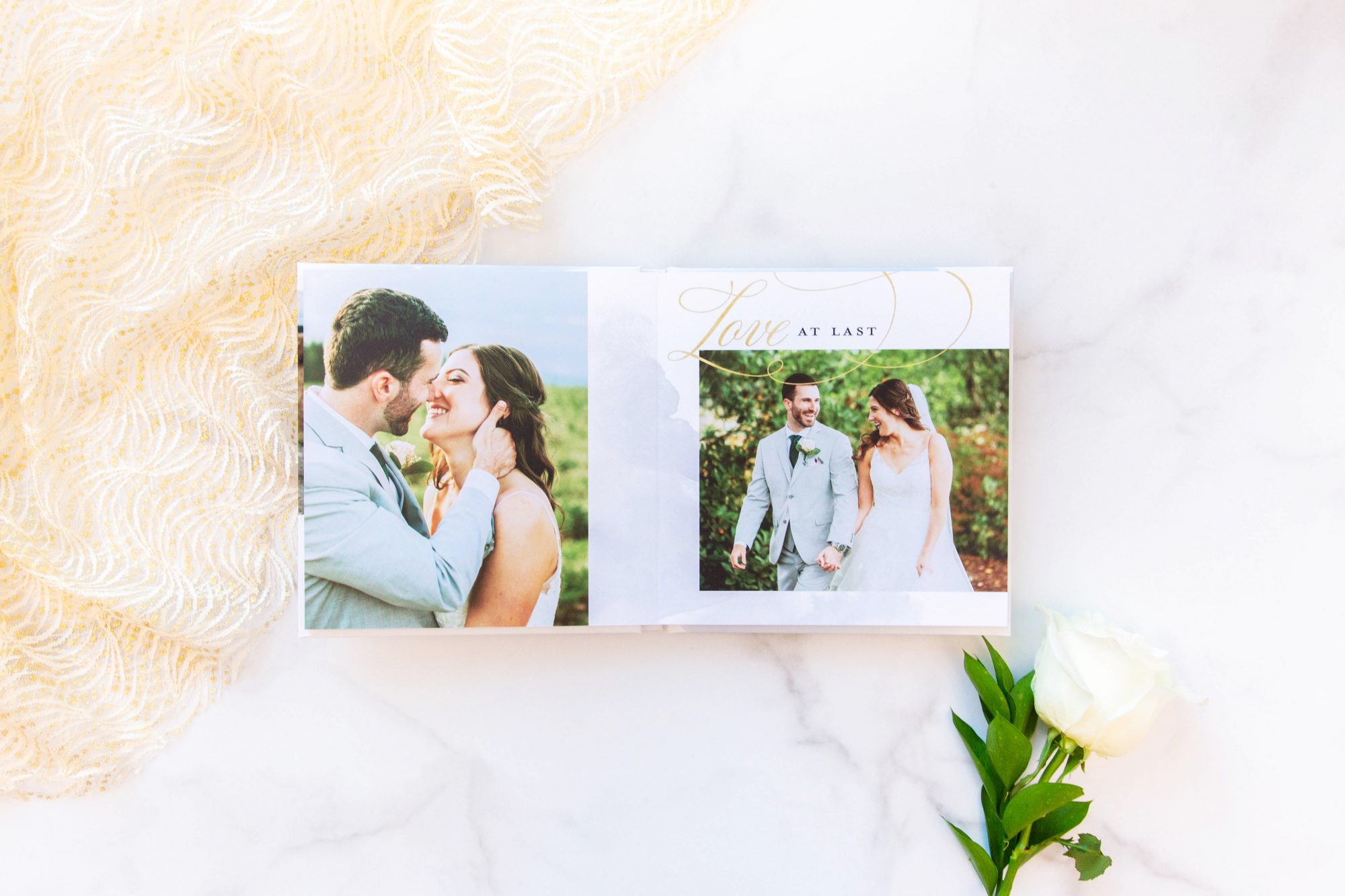 Martha Stewart x Mixbook Wedding Photo Album