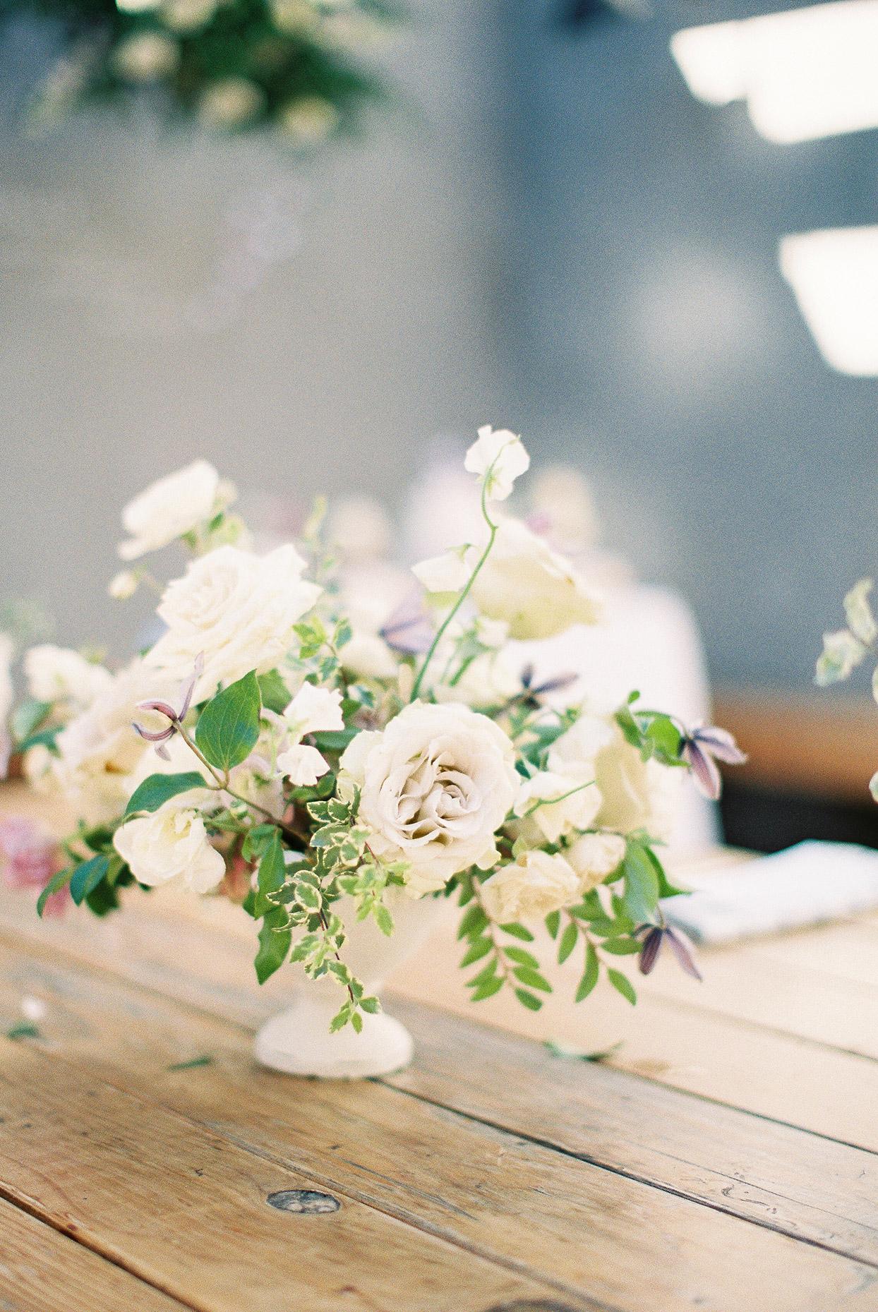 sally bridal shower pastel floral centerpiece