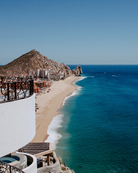mexican ocean venue from above