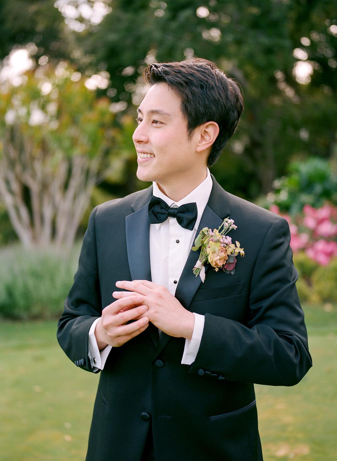 stephanie calvin wedding groom