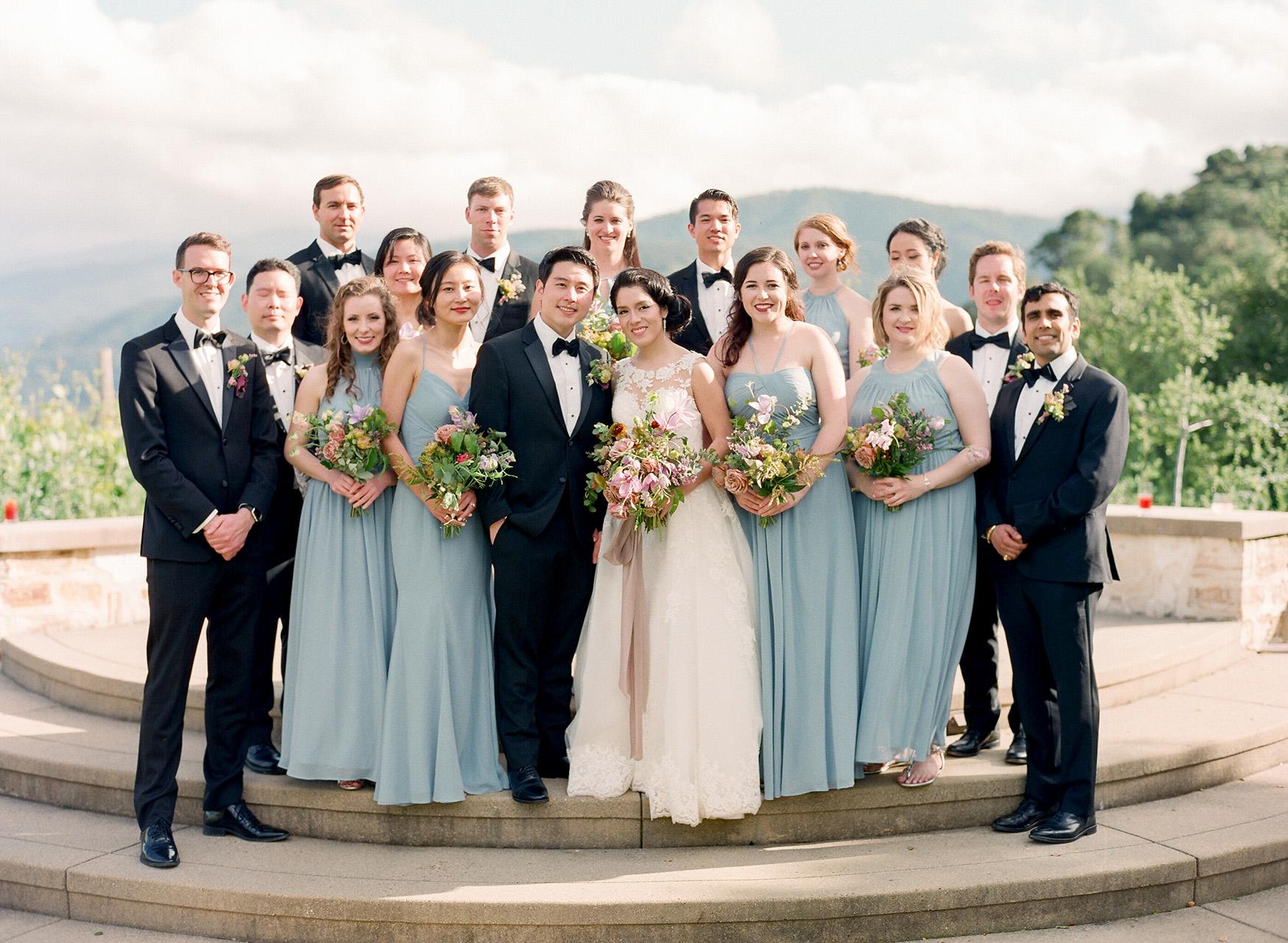 stephanie calvin wedding party