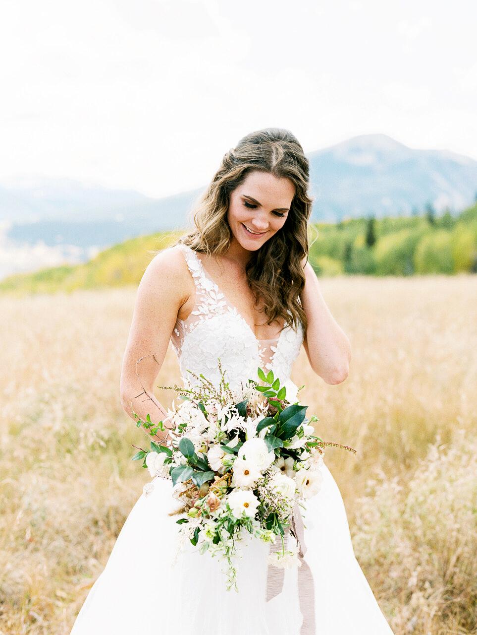 molly frank wedding bouquet