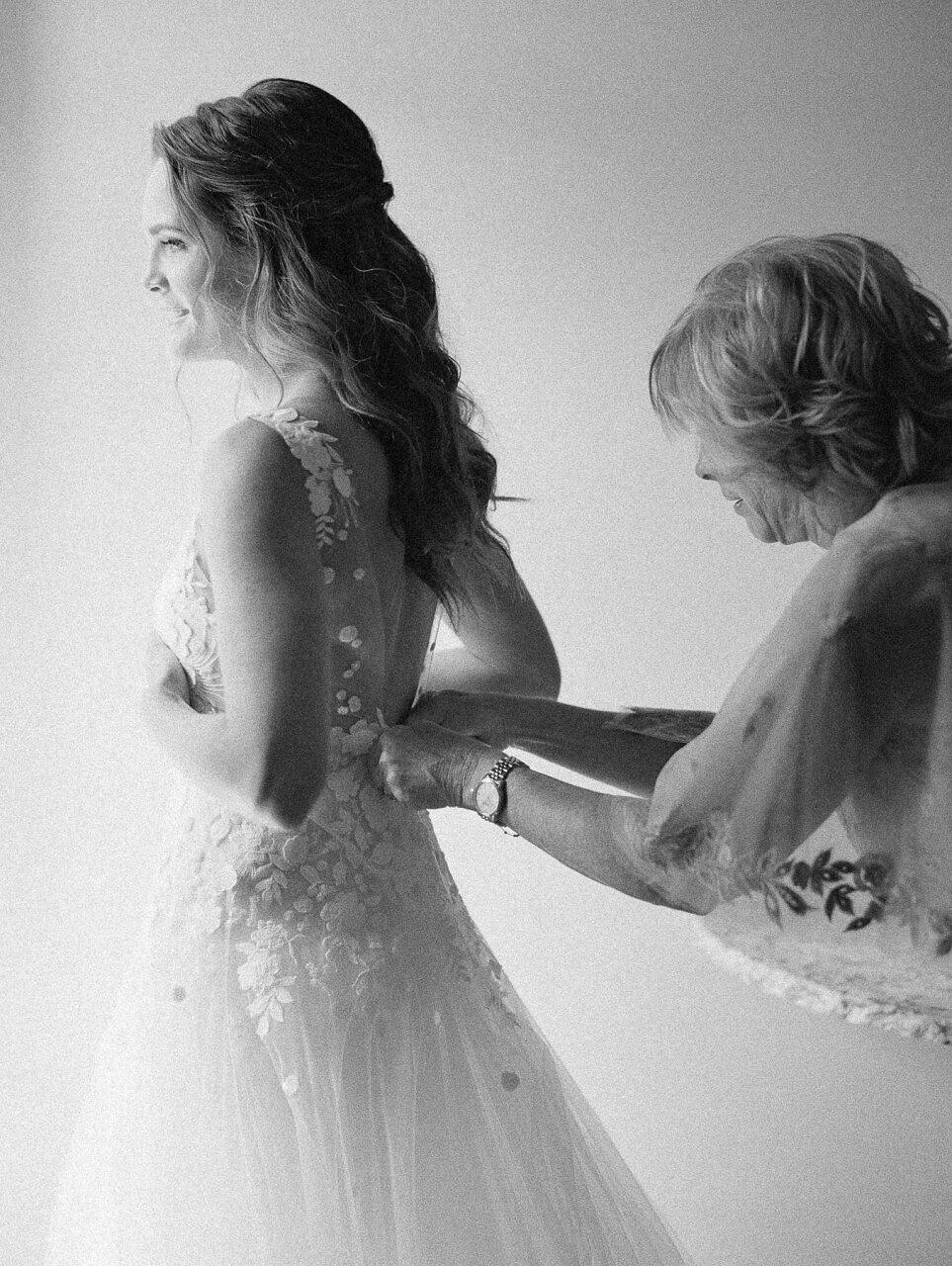 molly frank wedding bride mom