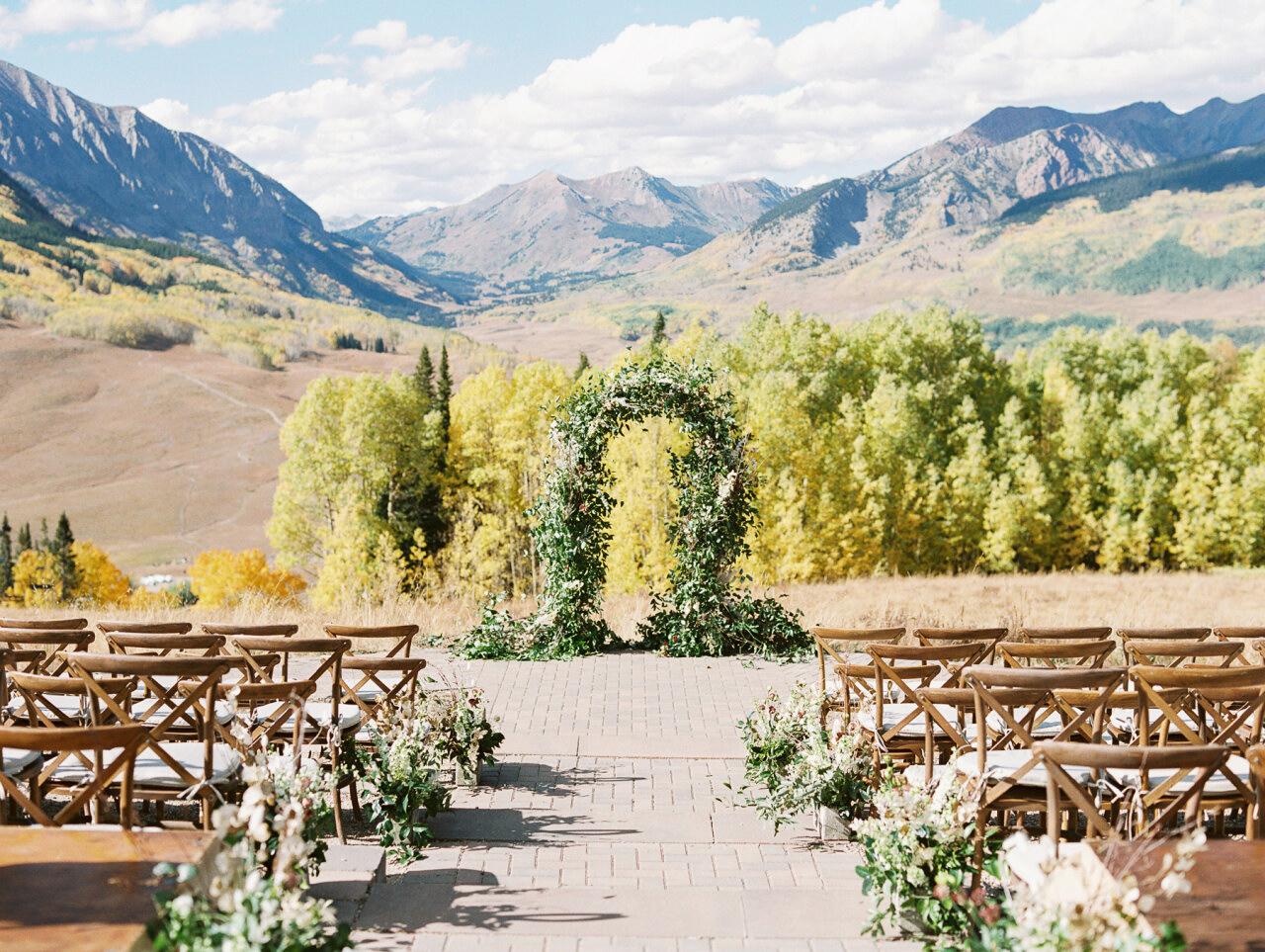 molly frank wedding ceremony space